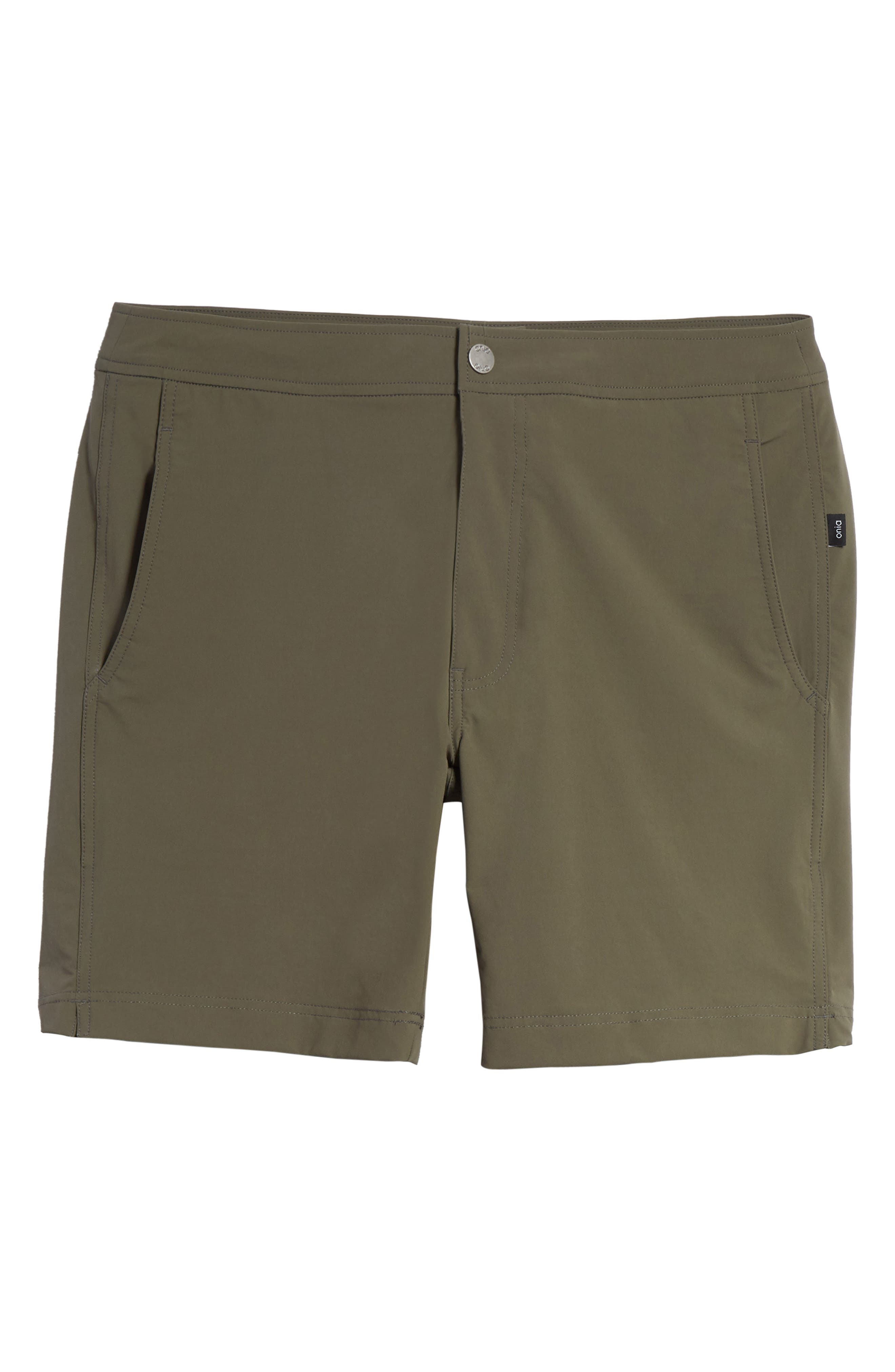 Calder Swim Trunks,                             Alternate thumbnail 6, color,                             DEEP SAGE