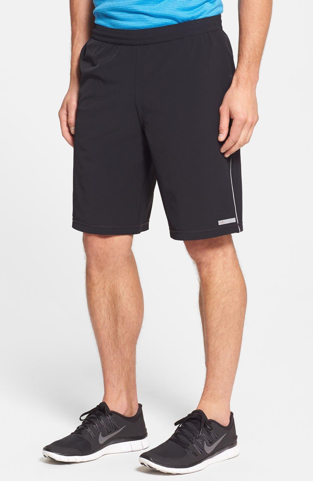 Athletic Training Shorts,                             Main thumbnail 1, color,                             001