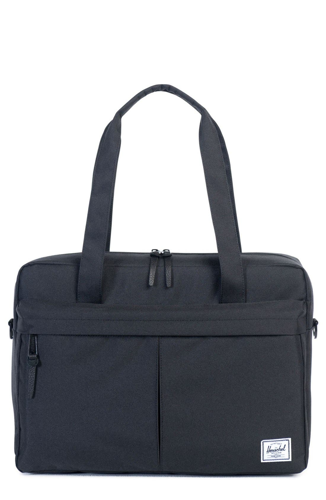 'Gibson' Messenger Bag,                             Main thumbnail 1, color,                             001