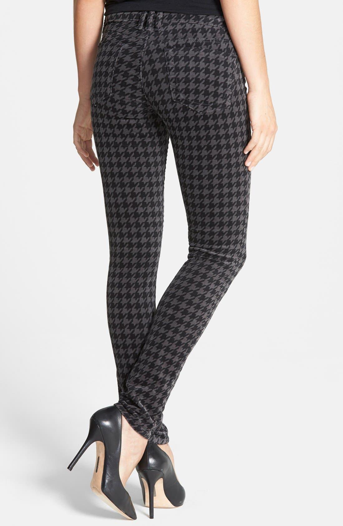 'Diana' Stretch Corduroy Skinny Pants,                             Alternate thumbnail 175, color,