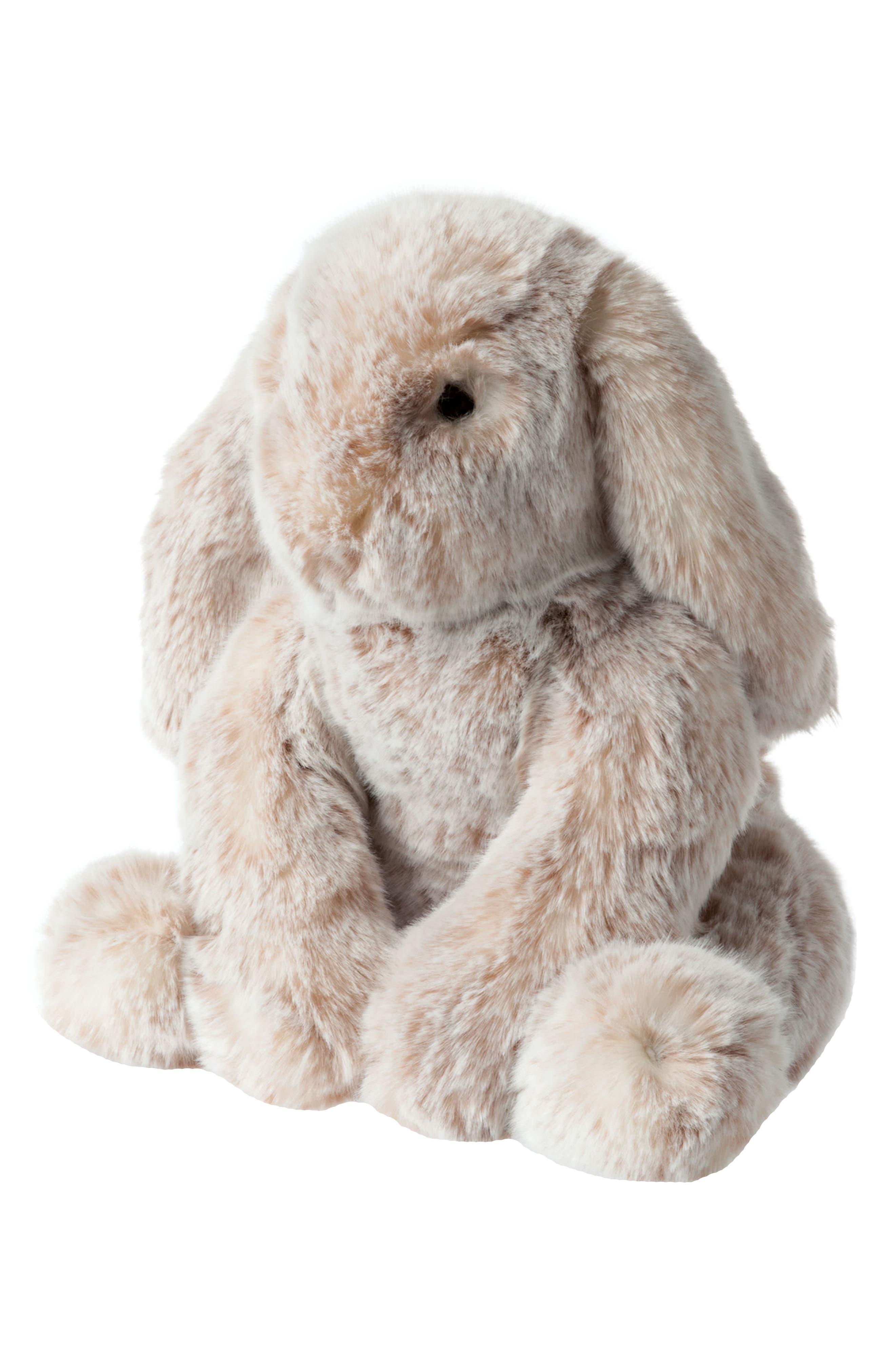 Luxe Bunny Stuffed Animal,                             Alternate thumbnail 3, color,                             200