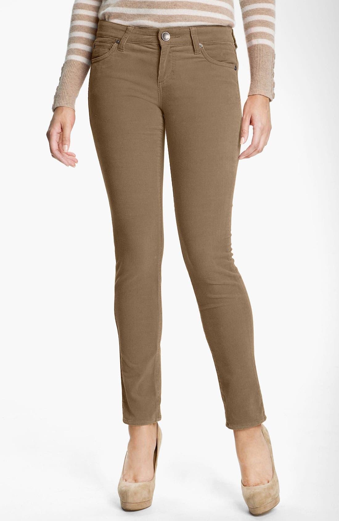 'Diana' Stretch Corduroy Skinny Pants,                             Main thumbnail 23, color,