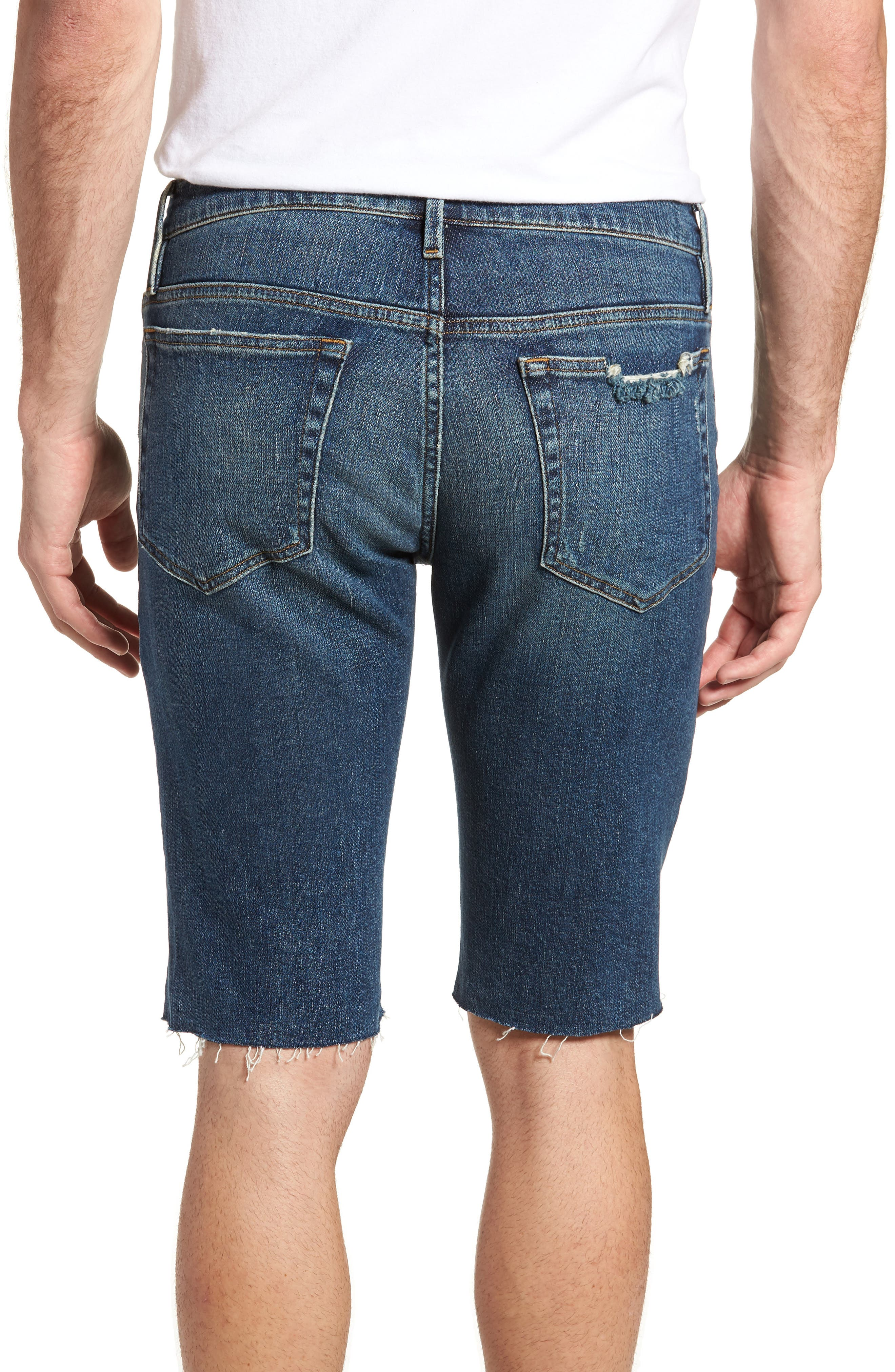 L'Homme Cutoff Shorts,                             Alternate thumbnail 2, color,                             KIRBY