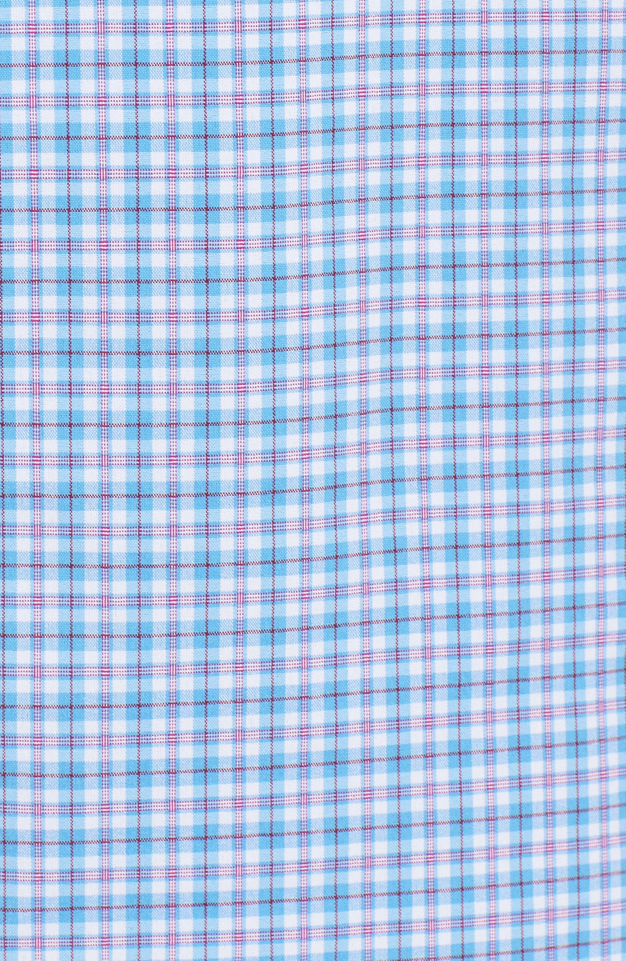Cone Peak Plaid Performance Sport Shirt,                             Alternate thumbnail 5, color,                             533