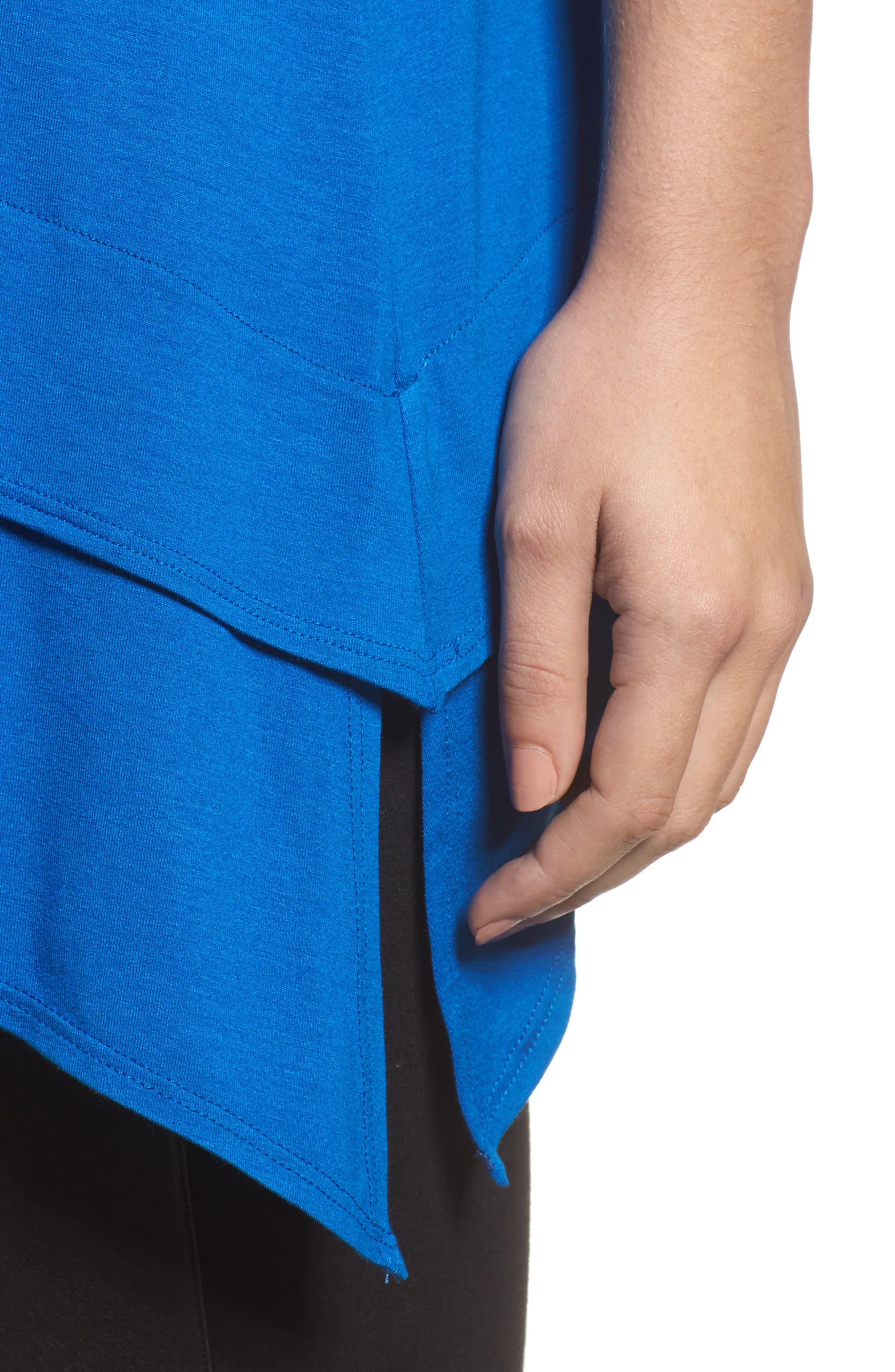 Tiered Handkerchief Hem Tunic,                             Alternate thumbnail 18, color,