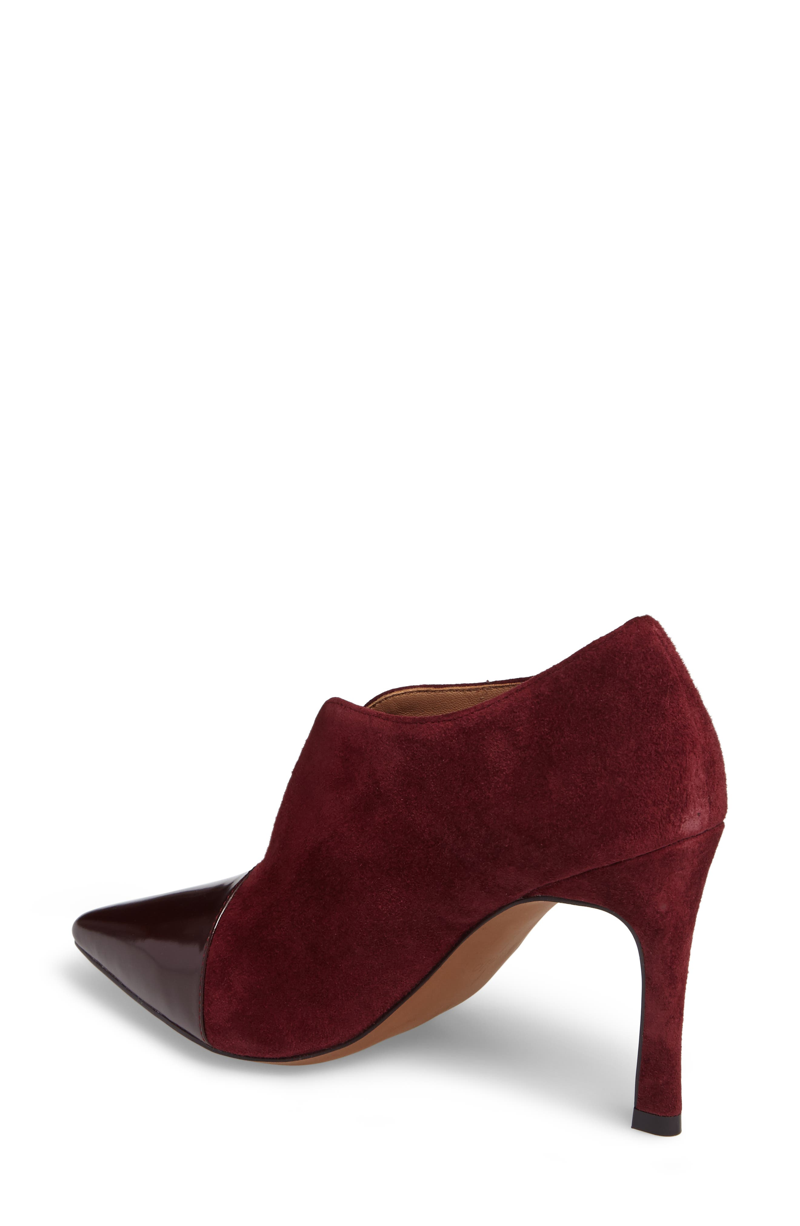 Pointy Toe Bootie,                             Alternate thumbnail 6, color,