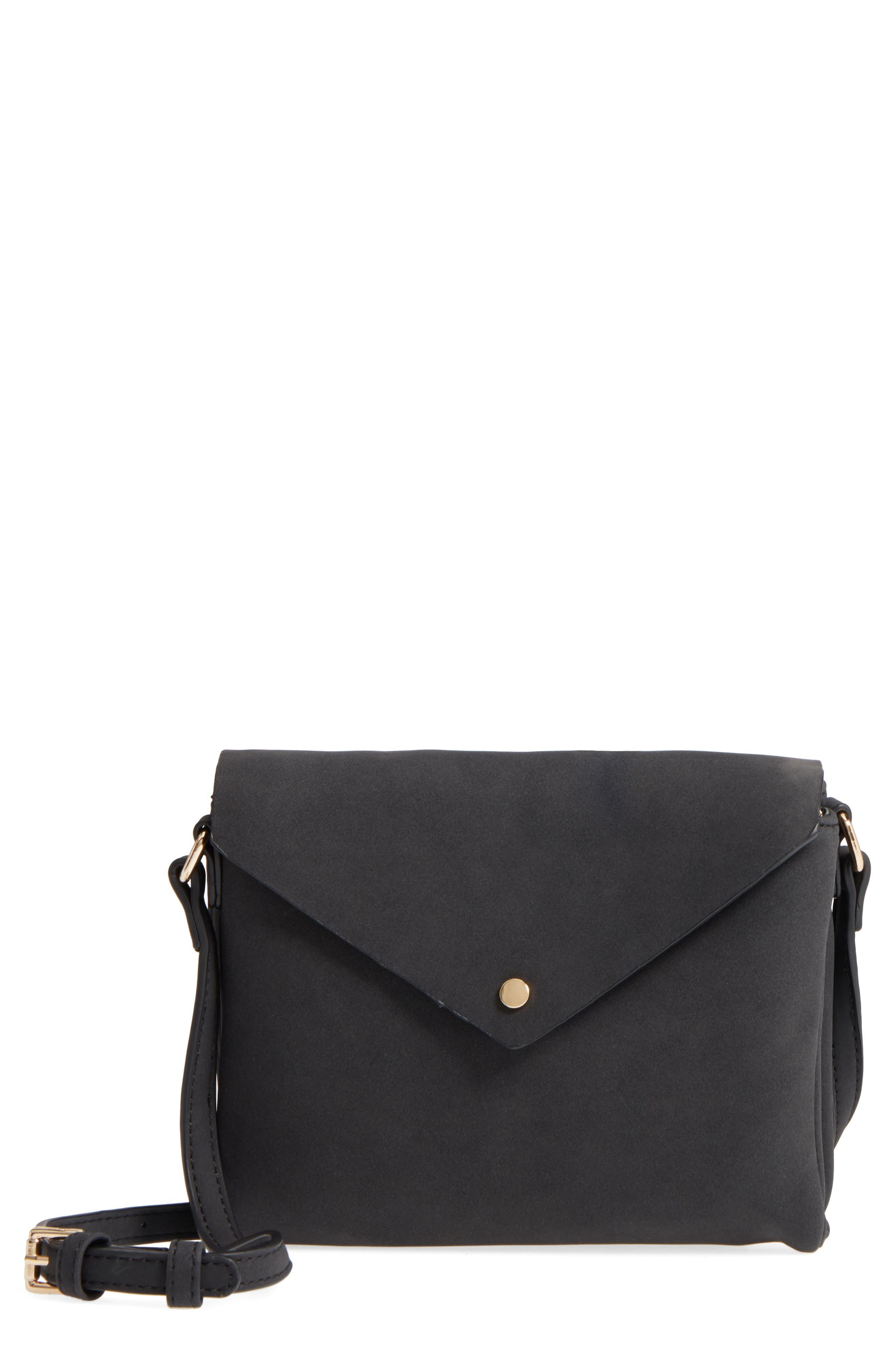 Envelope Crossbody Bag,                         Main,                         color, 001