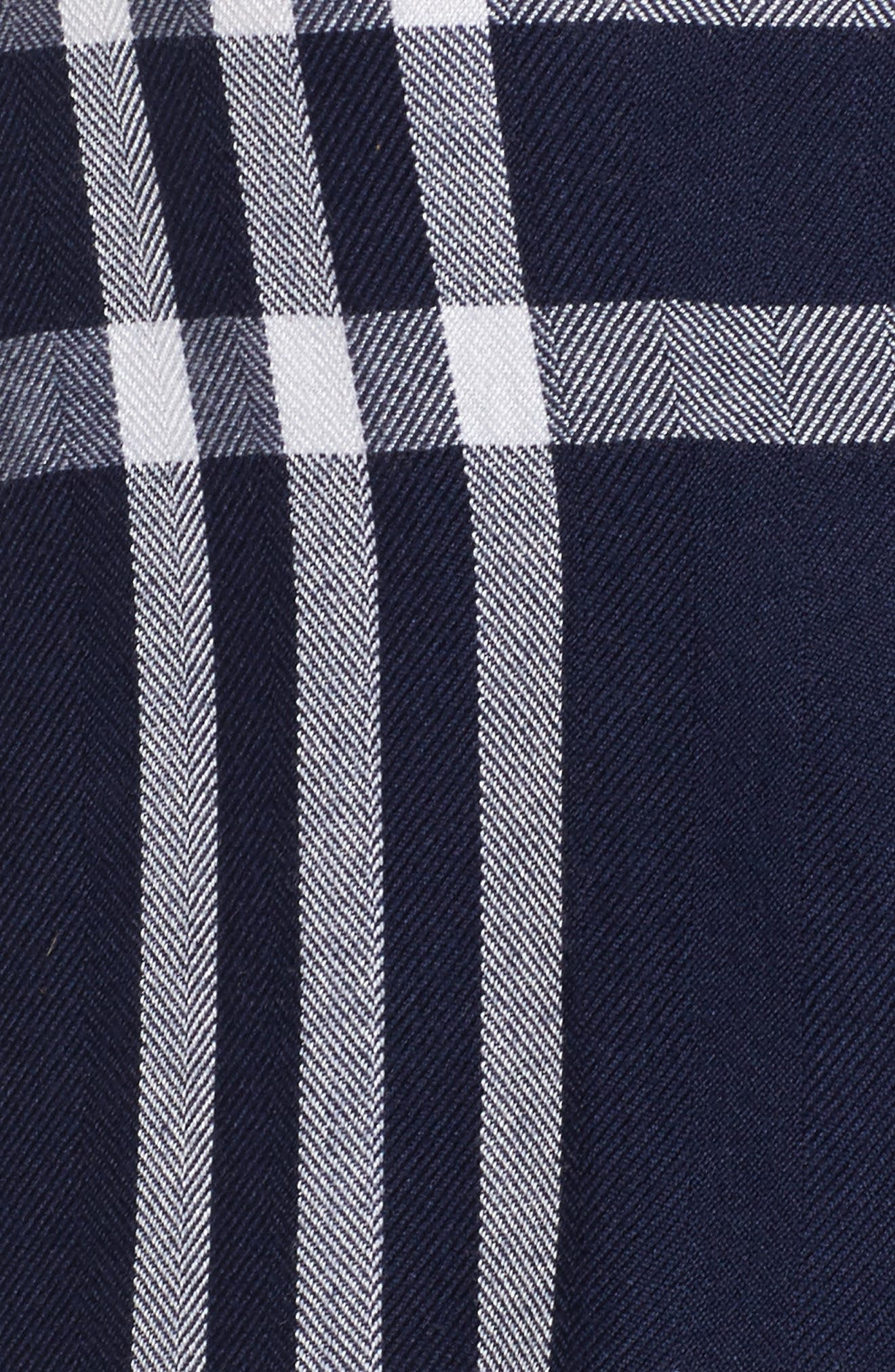 Plaid Short Pajamas,                             Alternate thumbnail 5, color,                             402