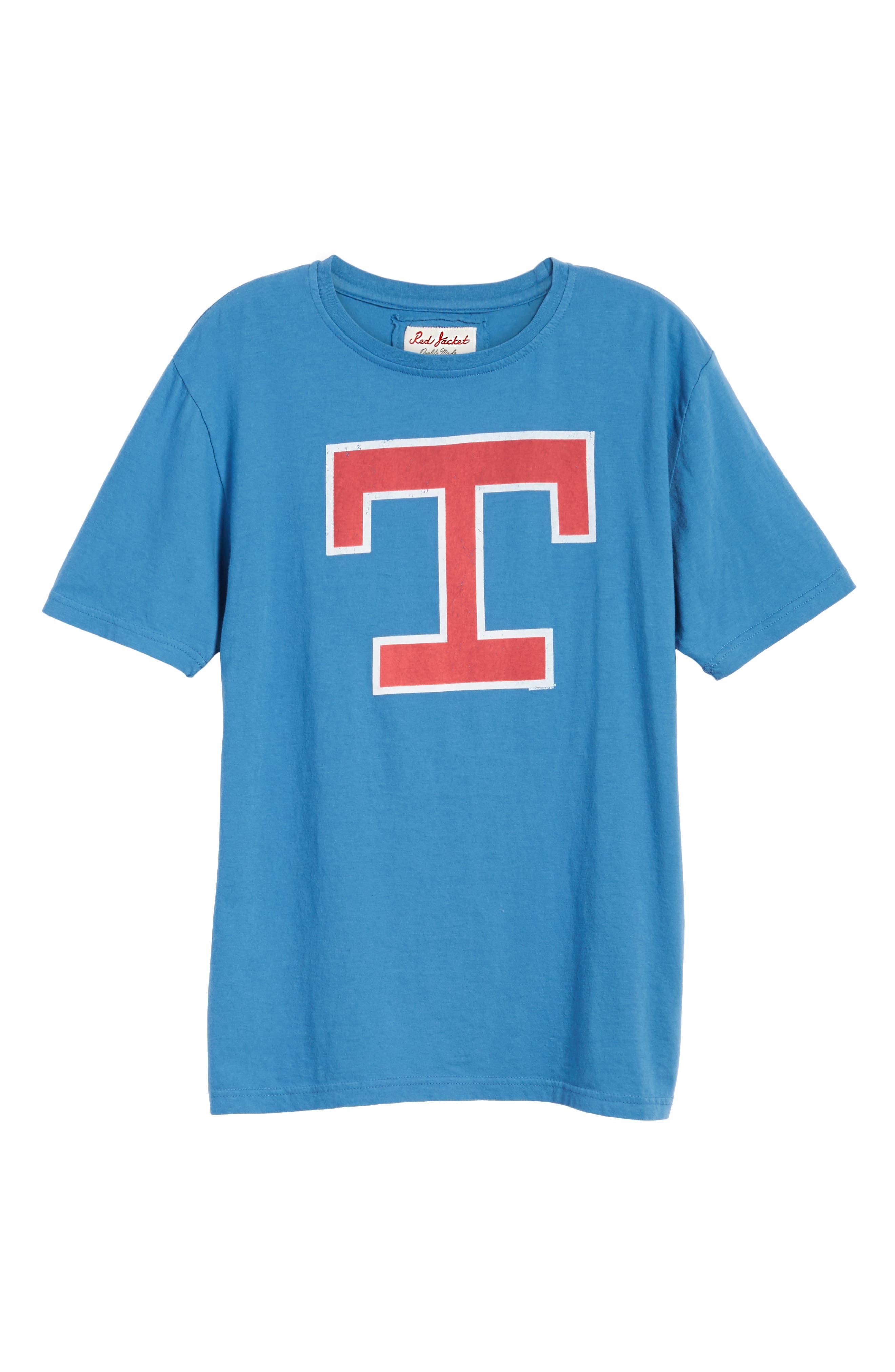 Brass Tack Texas Rangers T-Shirt,                             Alternate thumbnail 6, color,                             450
