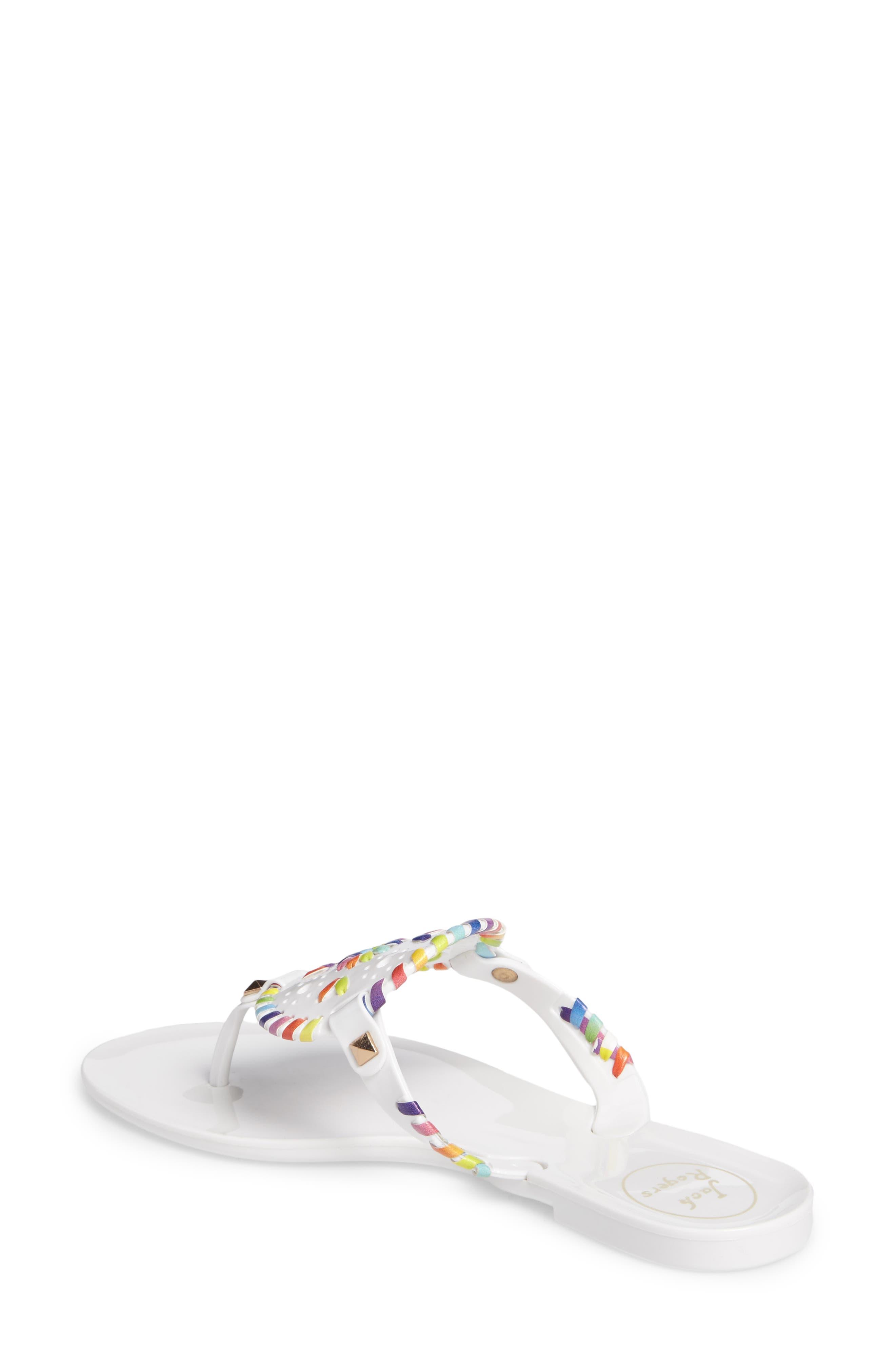 'Georgica' Jelly Flip Flop,                             Alternate thumbnail 66, color,