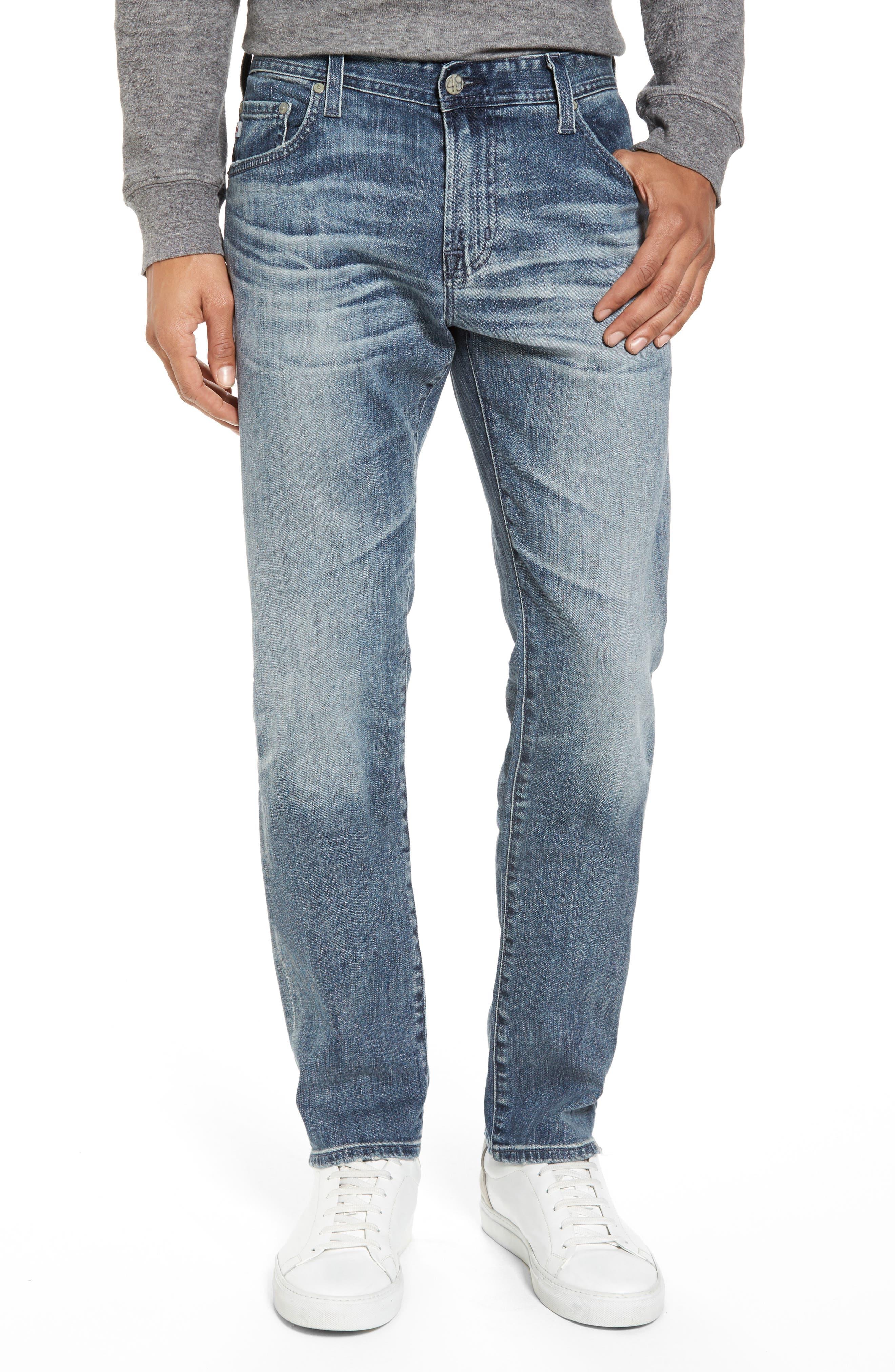 Tellis Slim Fit Jeans,                             Main thumbnail 1, color,                             487