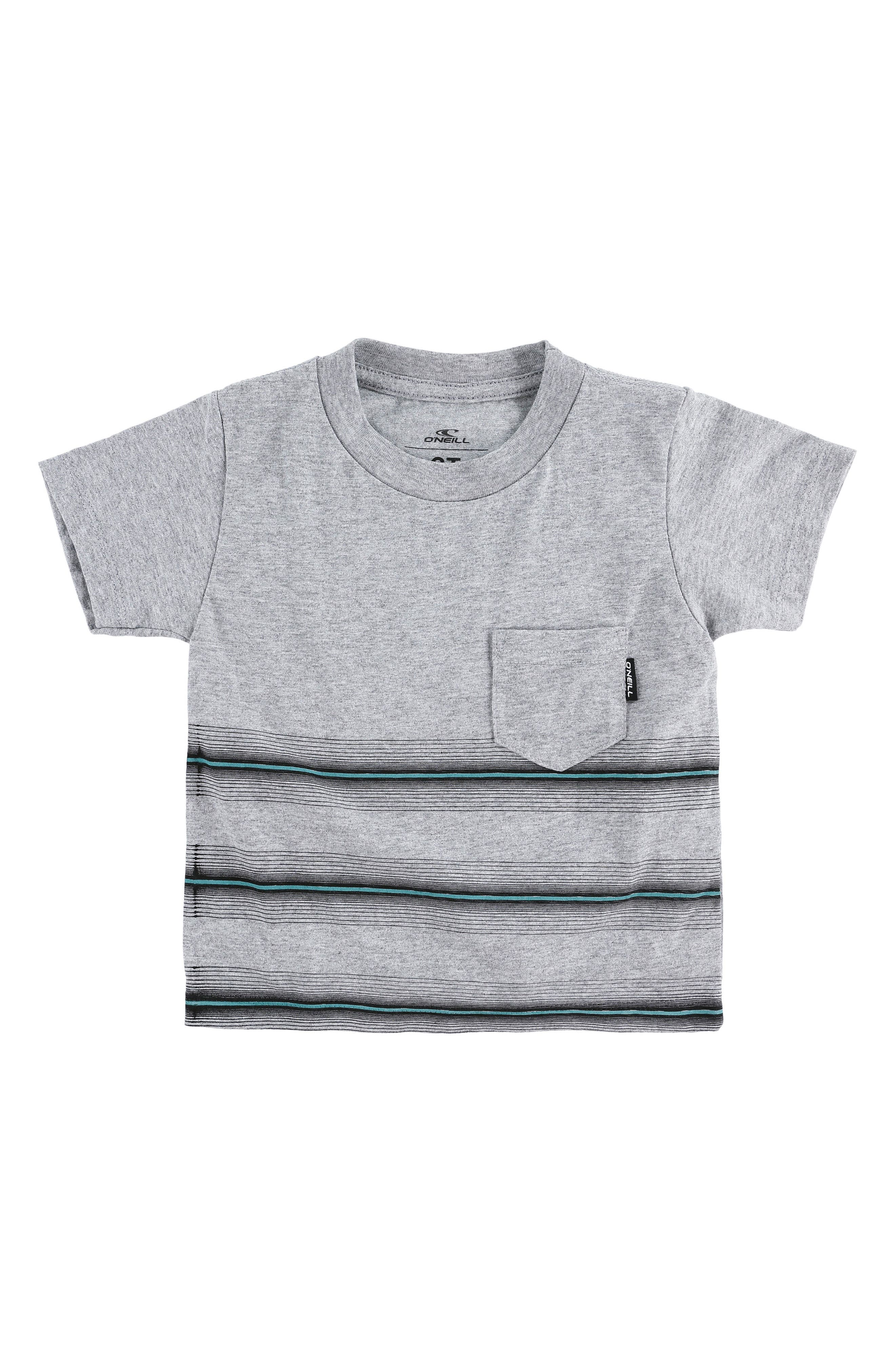 Pho Stripe Shirt,                         Main,                         color, HEATHER GREY