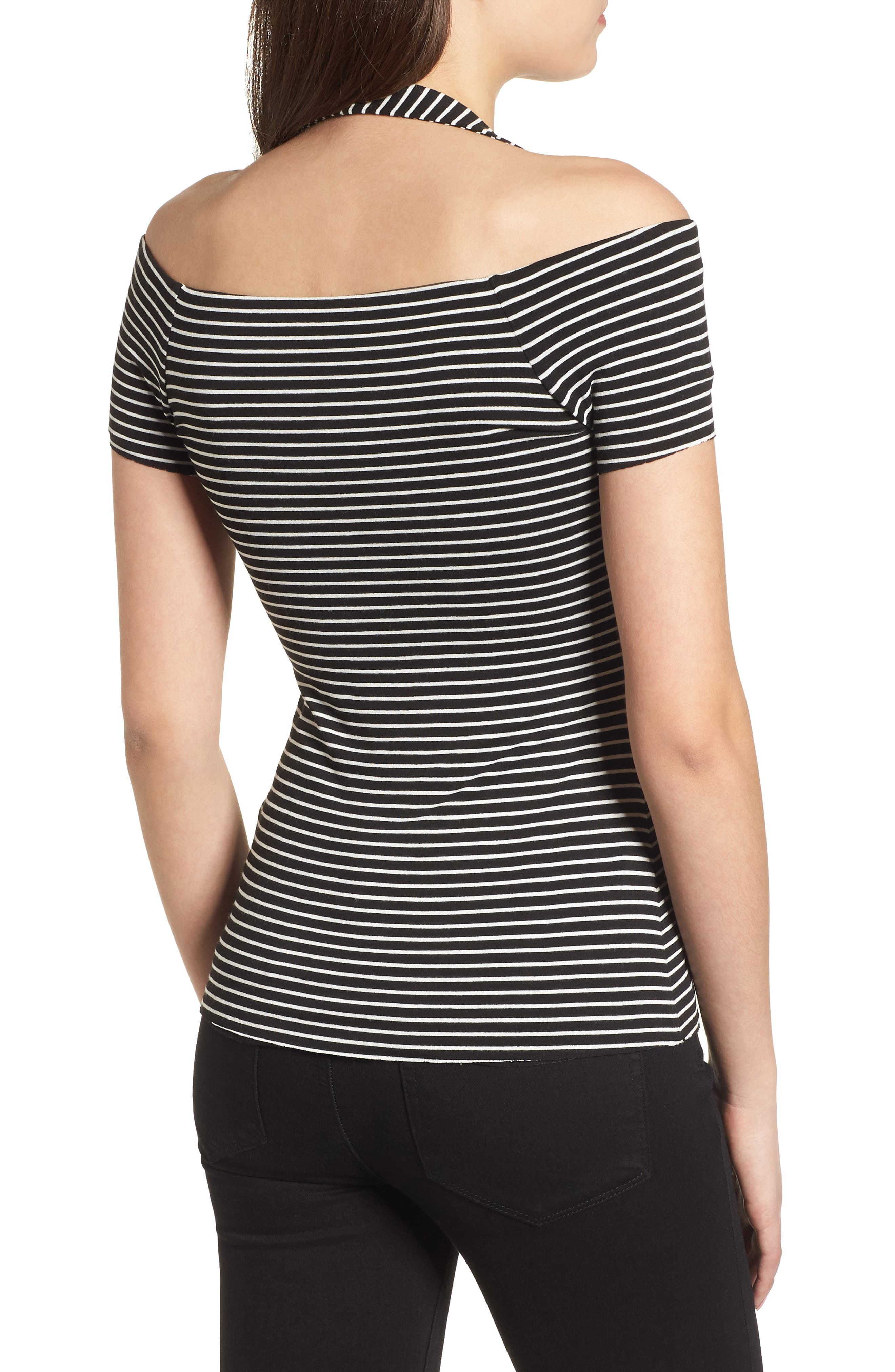 Kiss & Tell Cold Shoulder Top,                             Alternate thumbnail 2, color,