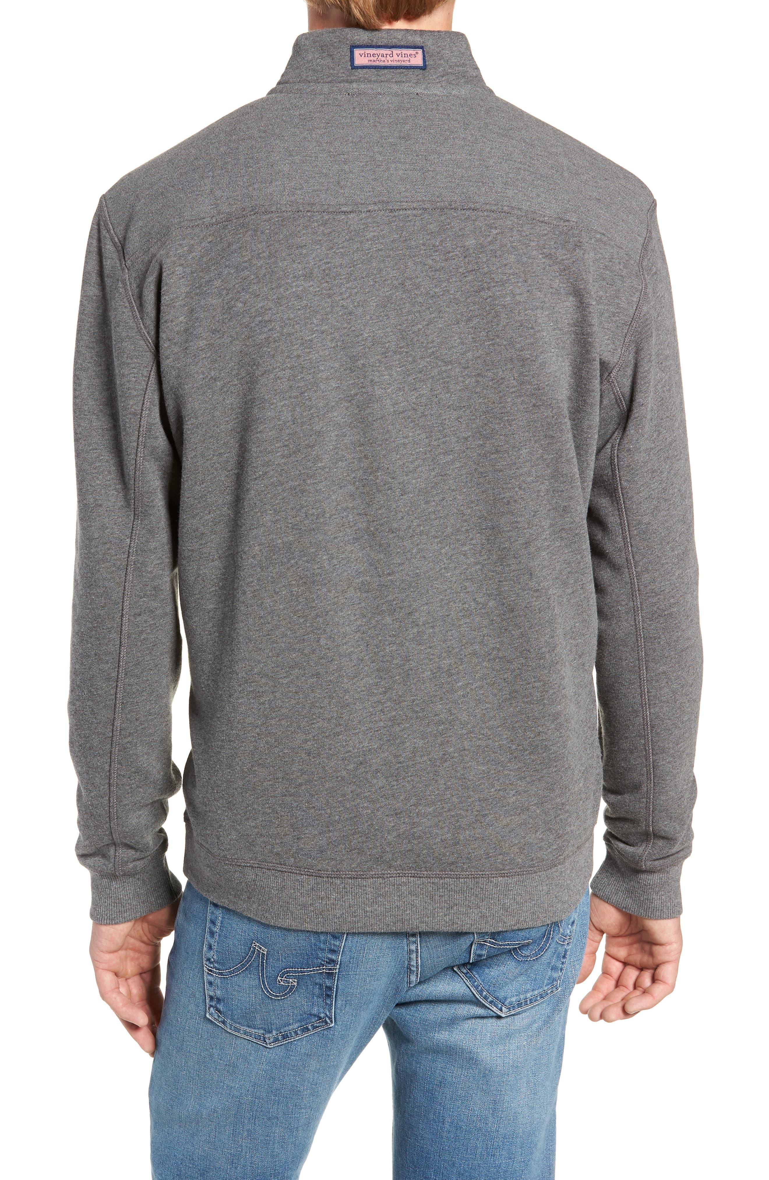 VINEYARD VINES,                             Collegiate Half Zip Pullover,                             Alternate thumbnail 2, color,                             023