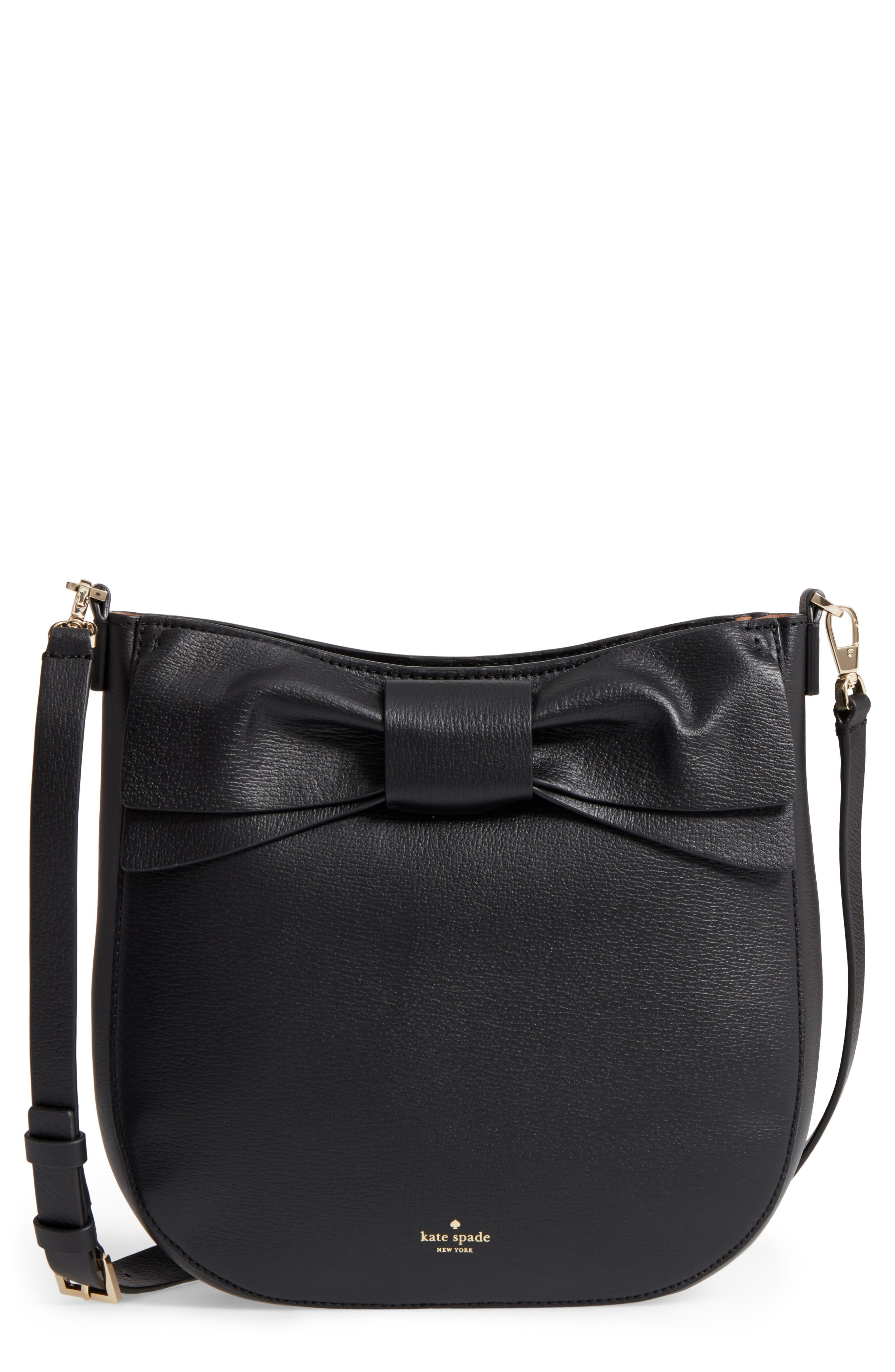 olive drive - robin leather crossbody bag,                             Main thumbnail 1, color,                             001