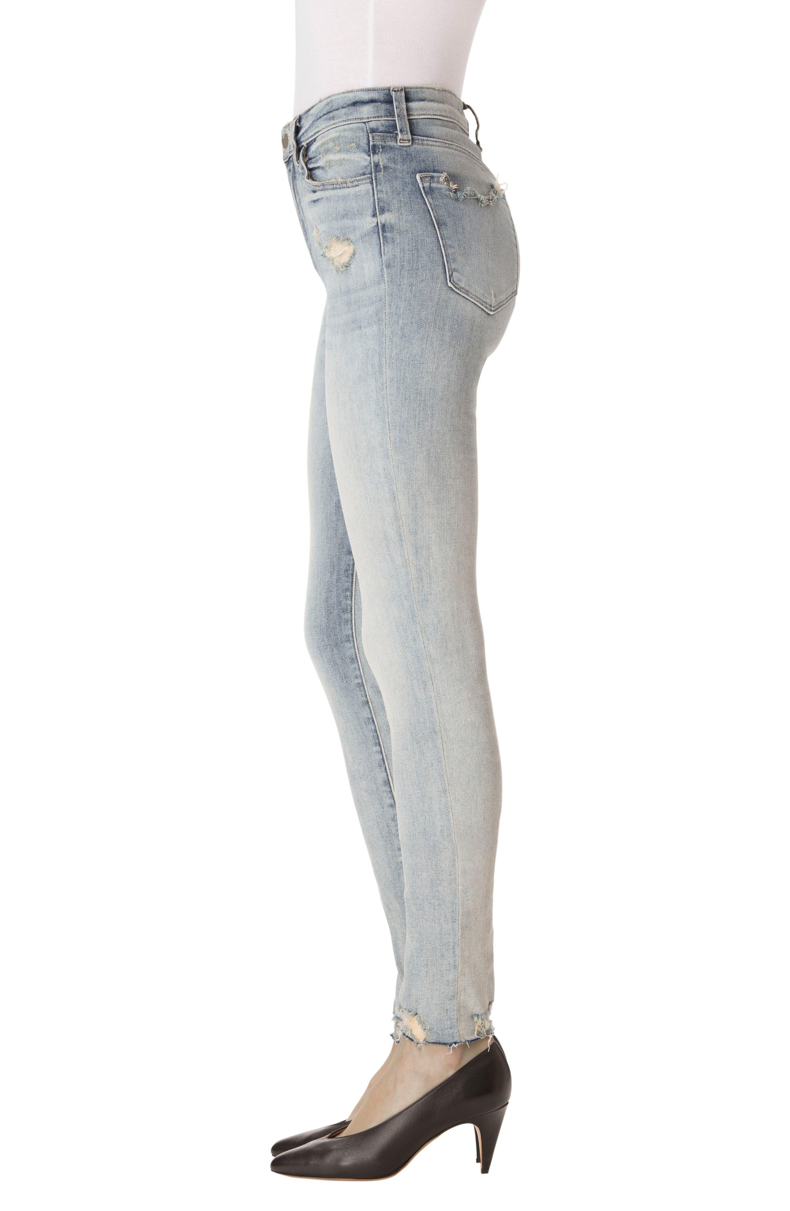 Maria High Waist Skinny Jeans,                             Alternate thumbnail 6, color,