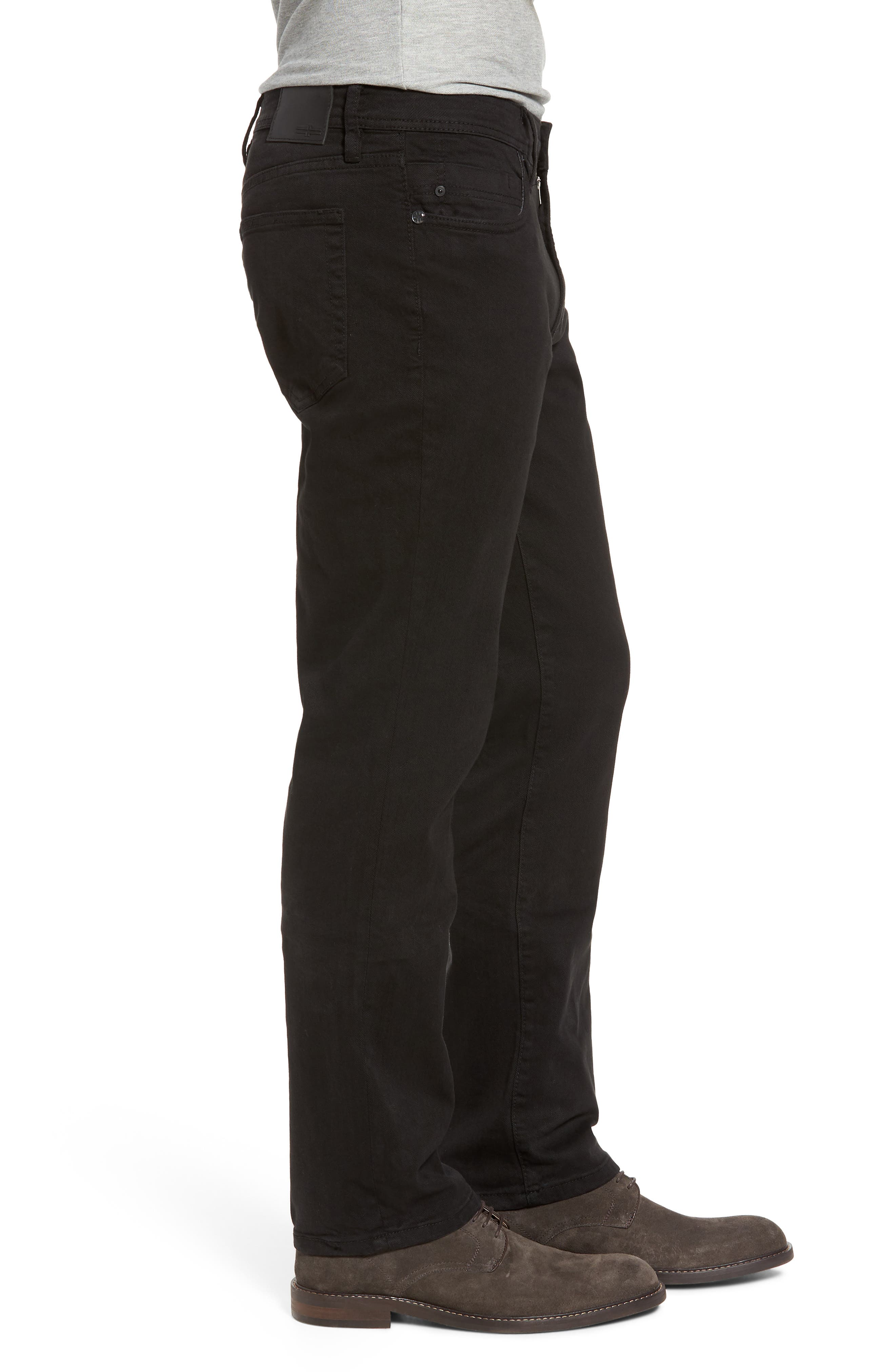 Jeans Co. Regent Relaxed Fit Jeans,                             Alternate thumbnail 3, color,                             BLACK RINSE