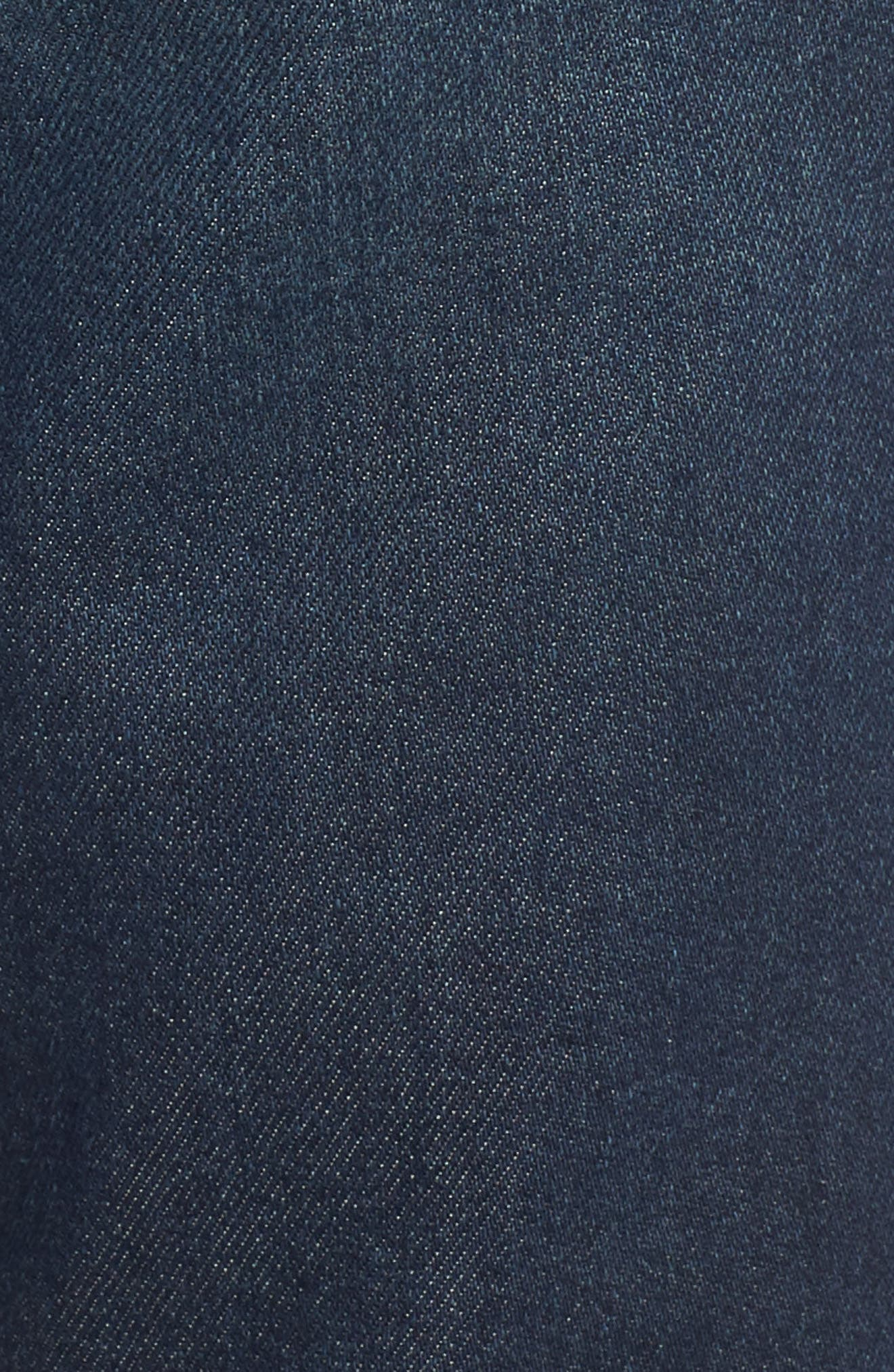 Faith Flare Jeans,                             Alternate thumbnail 6, color,                             NORTHPORT DARK WASH