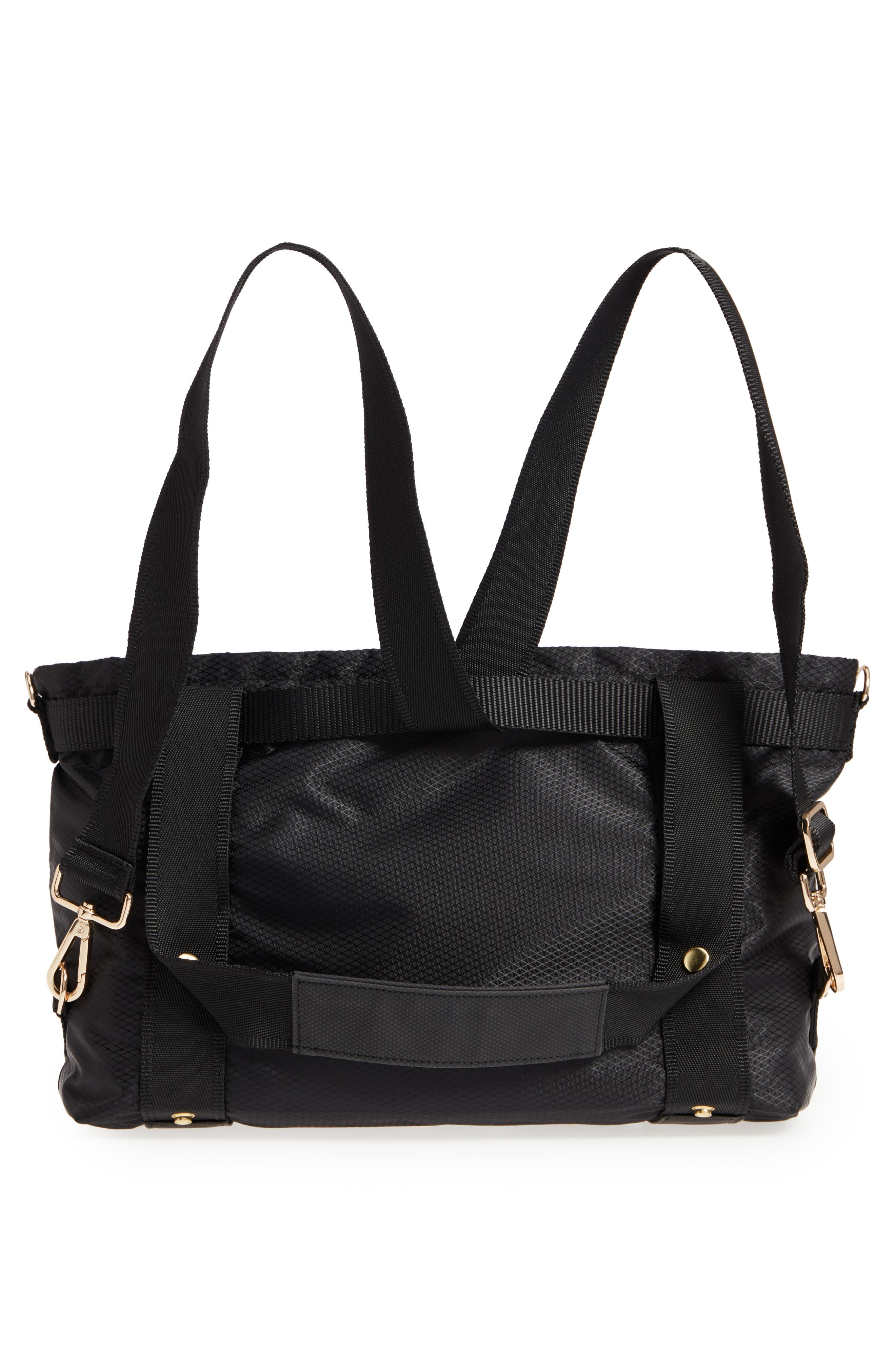 The ANDI Small Convertible Tote,                             Alternate thumbnail 3, color,                             BLACK