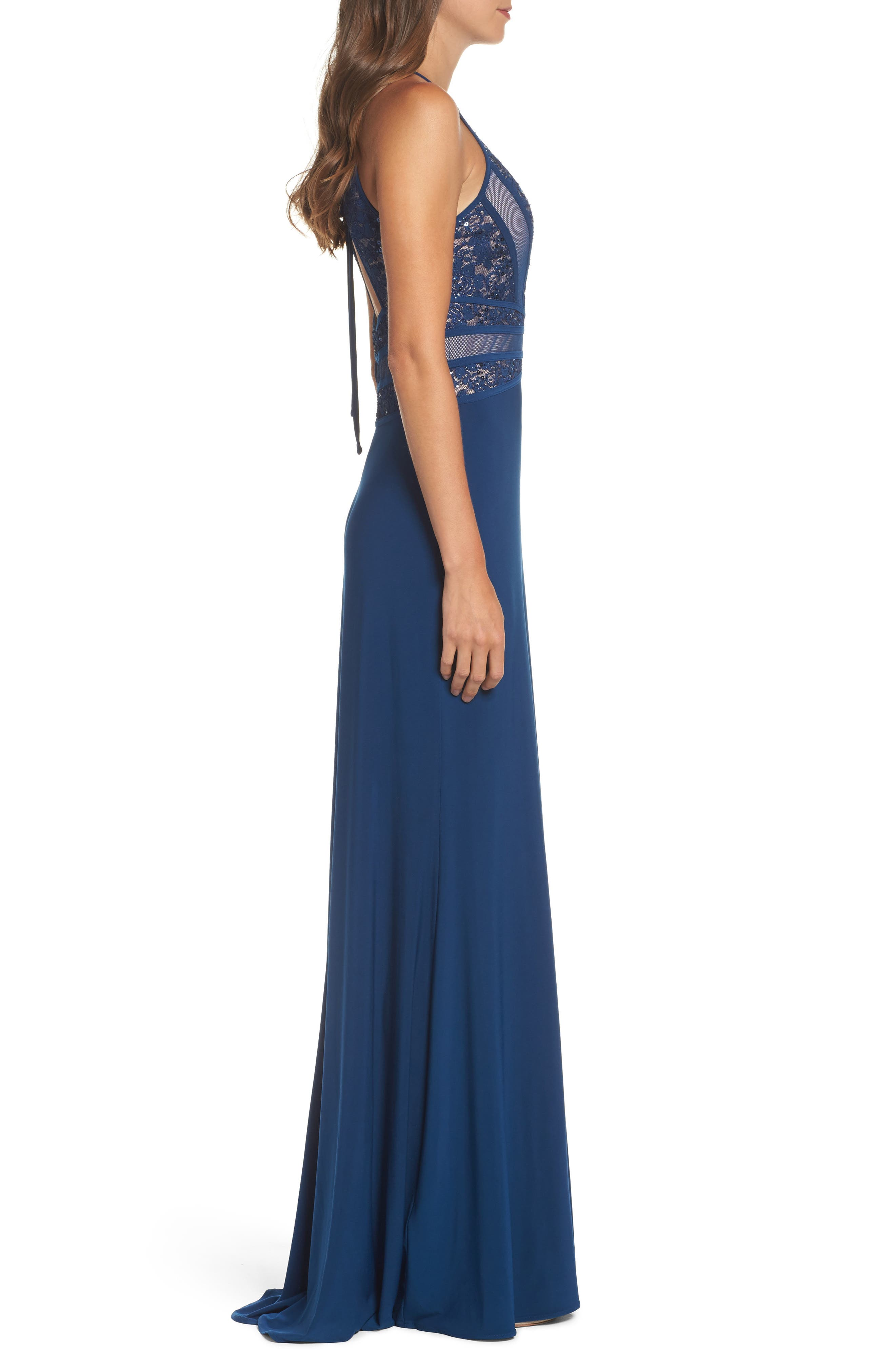Embellished Gown,                             Alternate thumbnail 3, color,                             499
