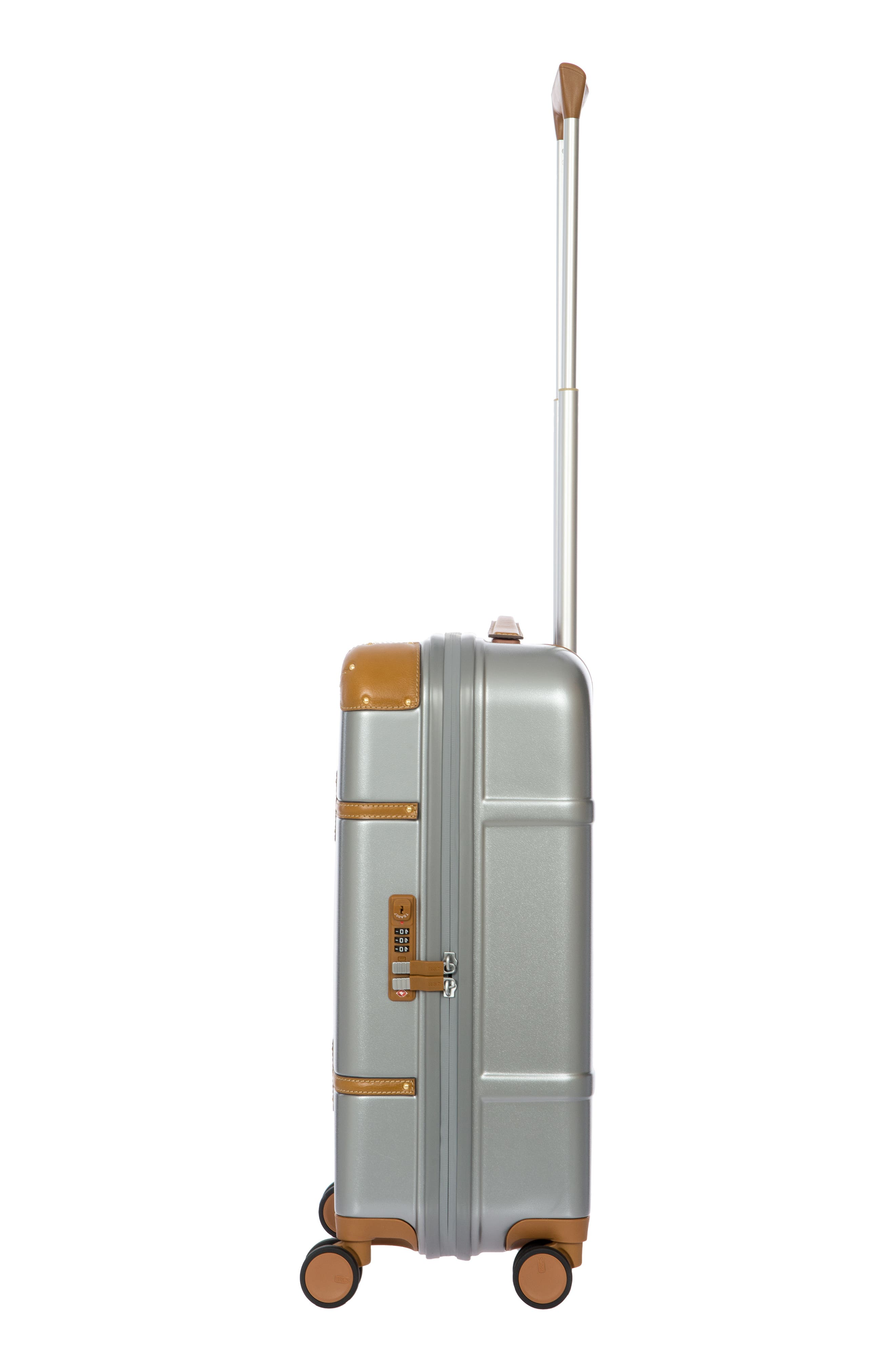 Bellagio 2.0 21-Inch Rolling Carry-On,                             Alternate thumbnail 3, color,                             SILVER