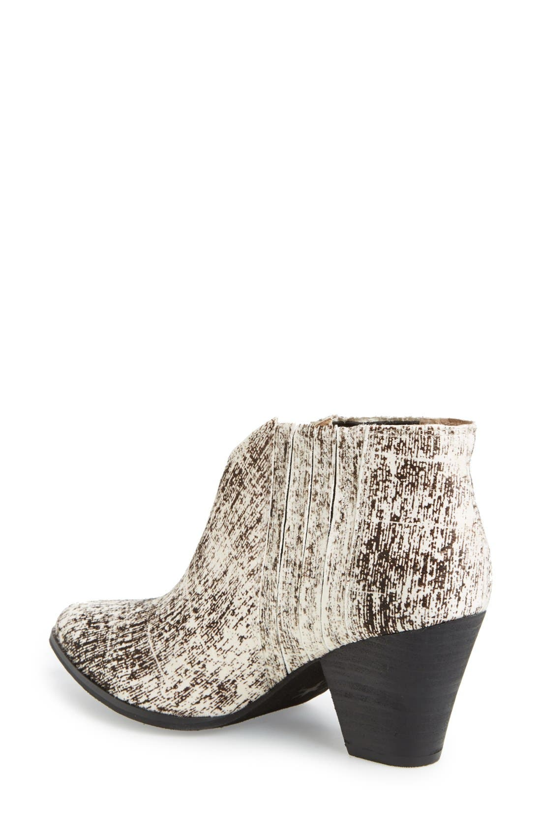 'Addie' Pointy Toe Ankle Bootie,                             Alternate thumbnail 6, color,