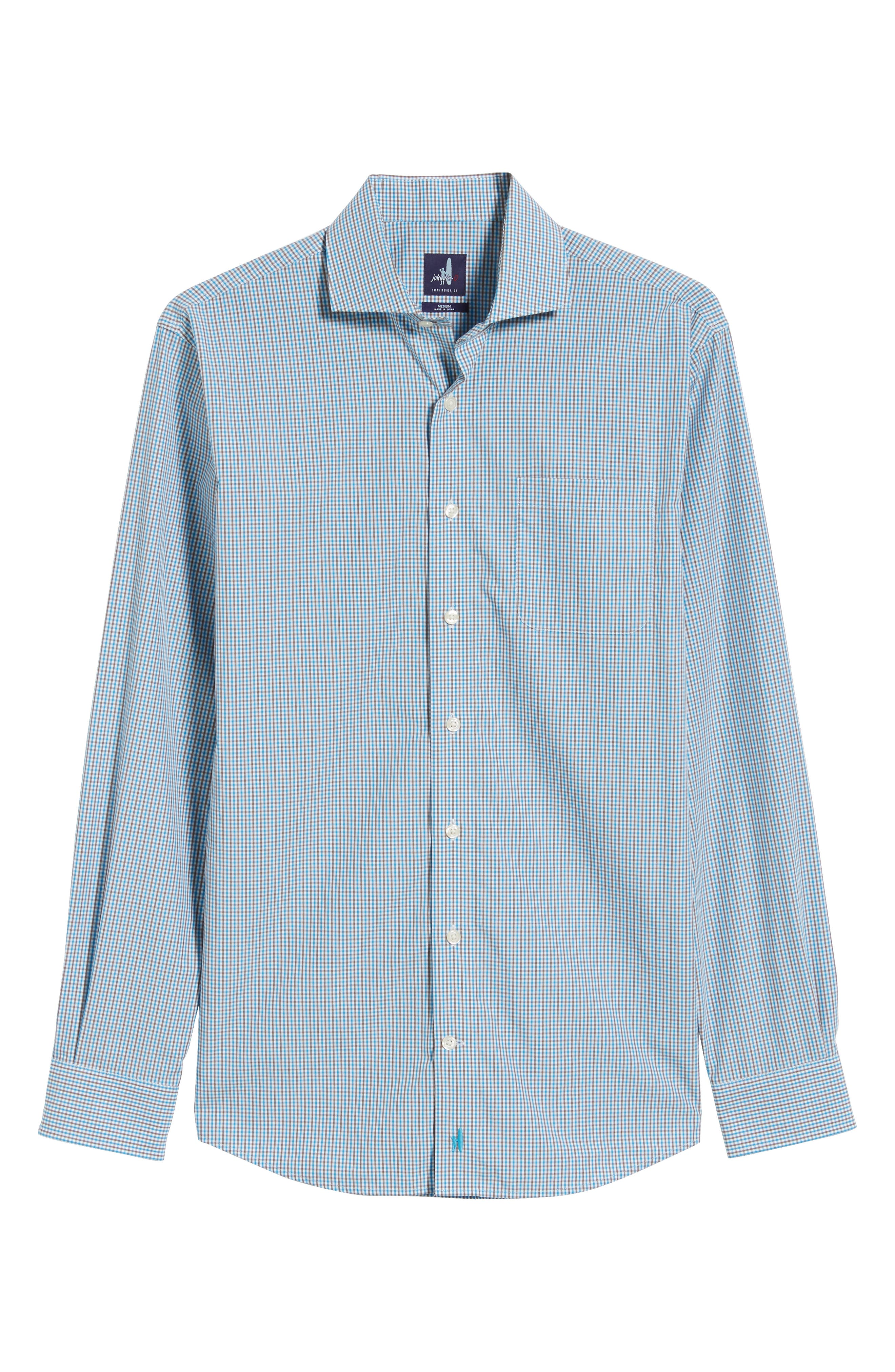 JOHNNIE-O,                             Douglas Classic Fit Sport Shirt,                             Alternate thumbnail 5, color,                             434