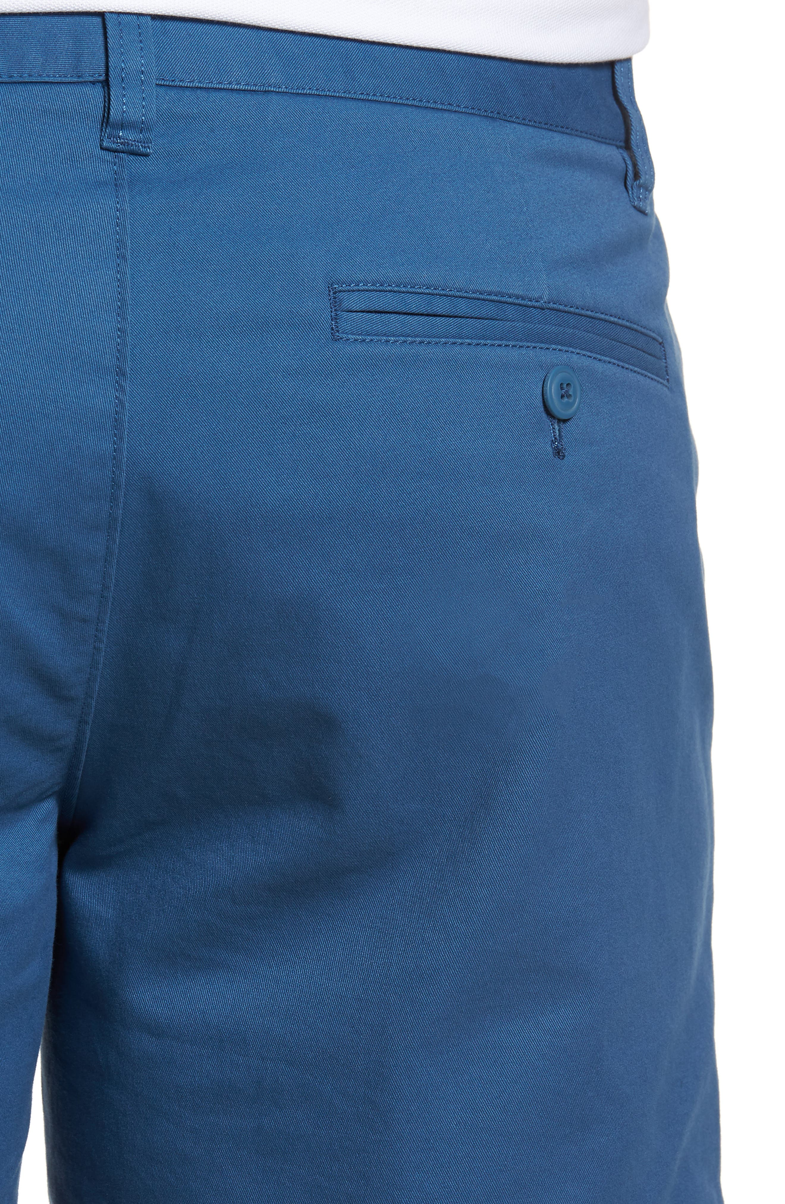 Stretch Washed Chino 5-Inch Shorts,                             Alternate thumbnail 122, color,