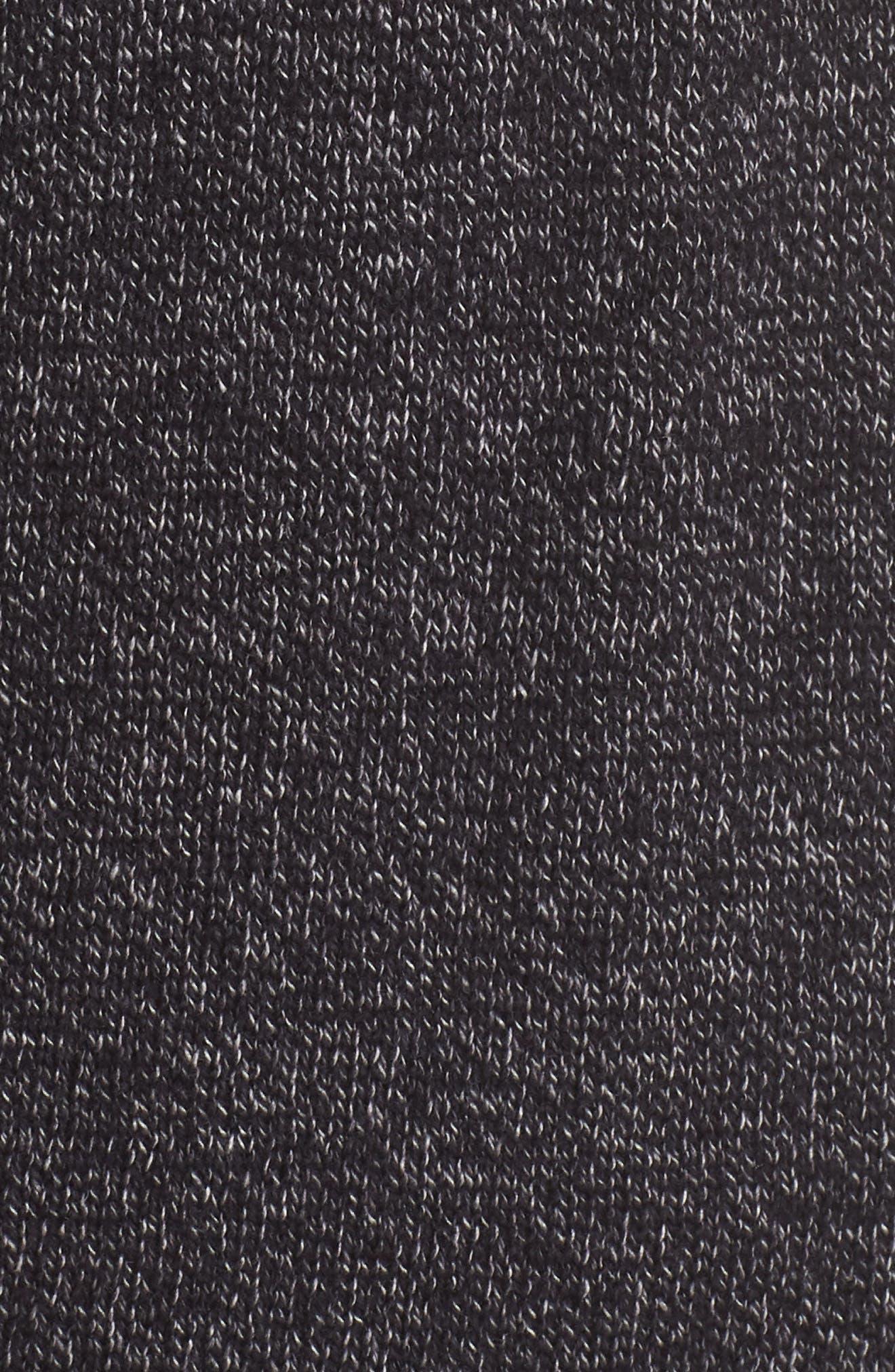 Drop Shoulder Open Cardigan,                             Alternate thumbnail 6, color,                             001