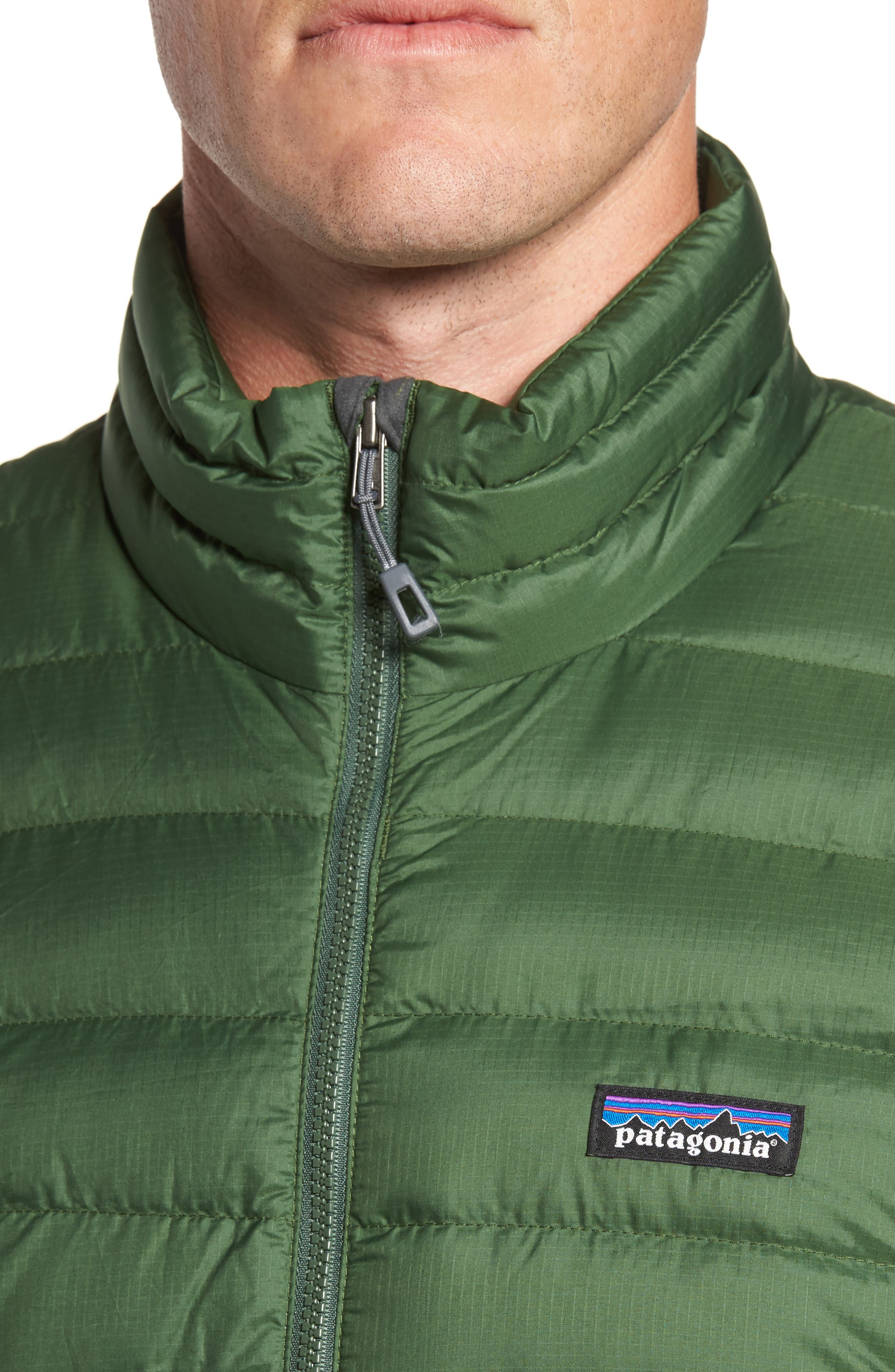 Water Repellent Down Jacket,                             Alternate thumbnail 62, color,