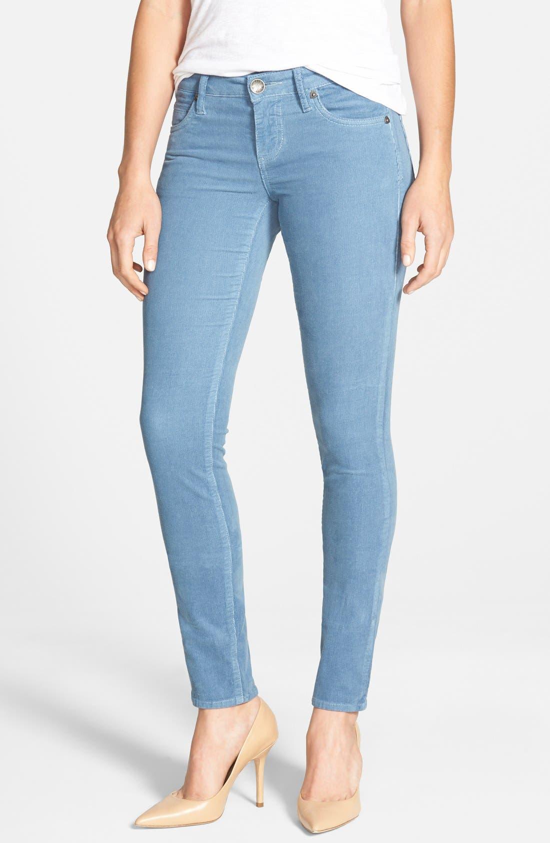 'Diana' Stretch Corduroy Skinny Pants,                             Main thumbnail 34, color,