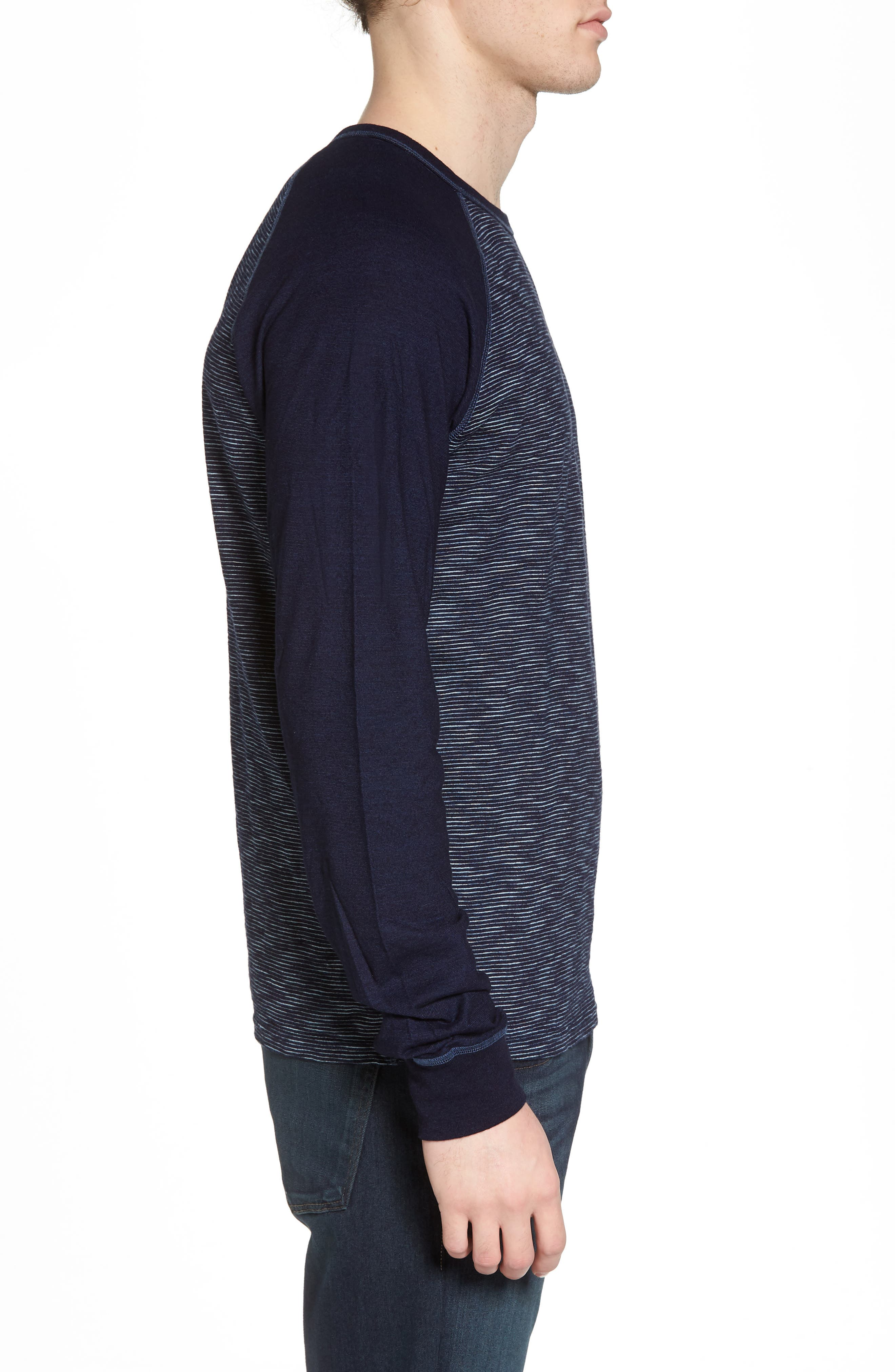 NIFTY GENIUS,                             Jackie Stripe Raglan Pullover,                             Alternate thumbnail 3, color,                             401