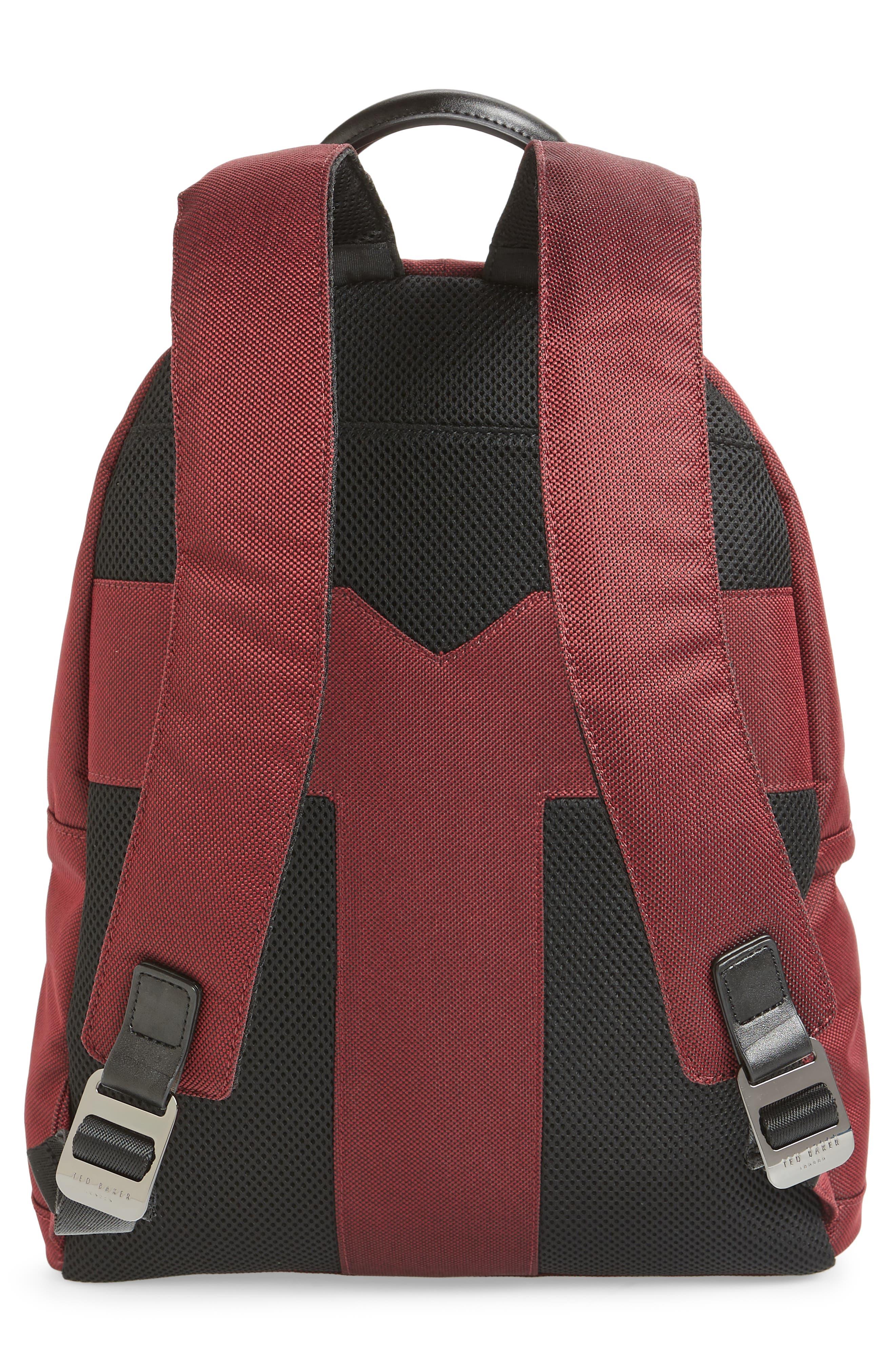 Filer Backpack,                             Alternate thumbnail 3, color,                             RED