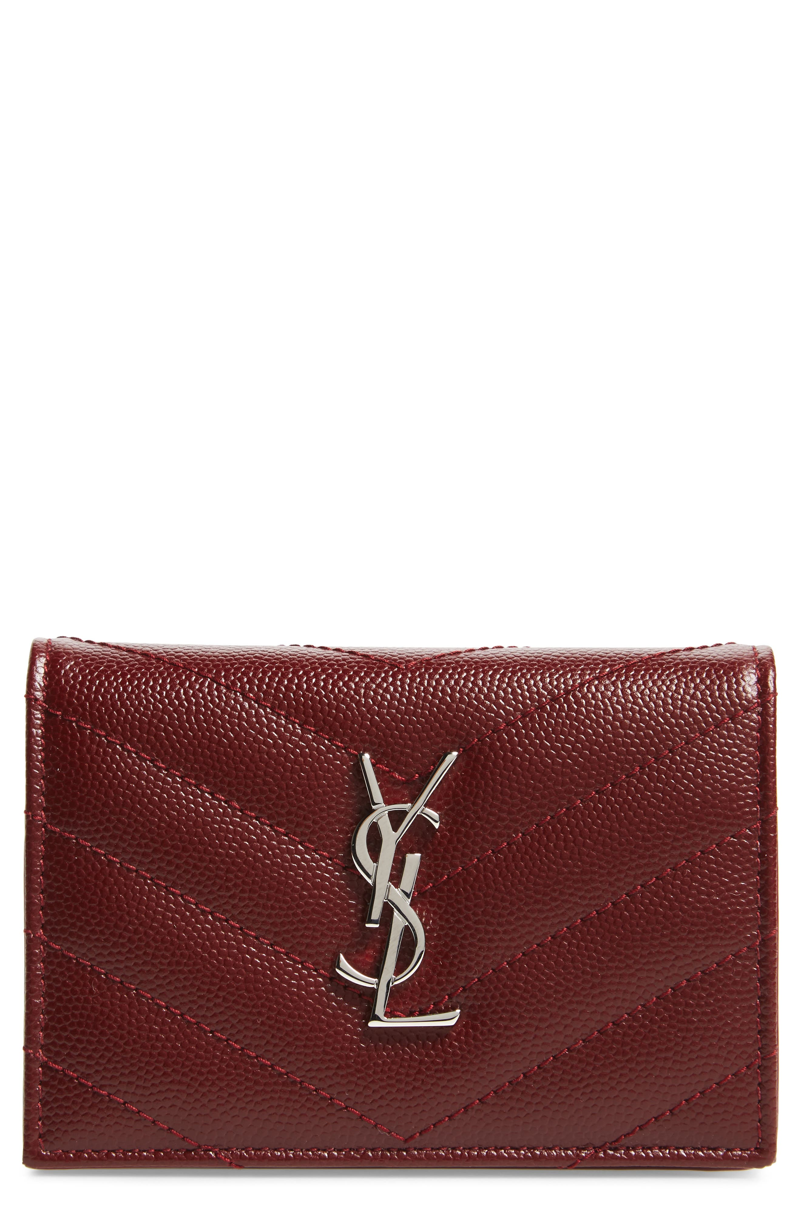 Textured Leather Card Case,                             Main thumbnail 3, color,