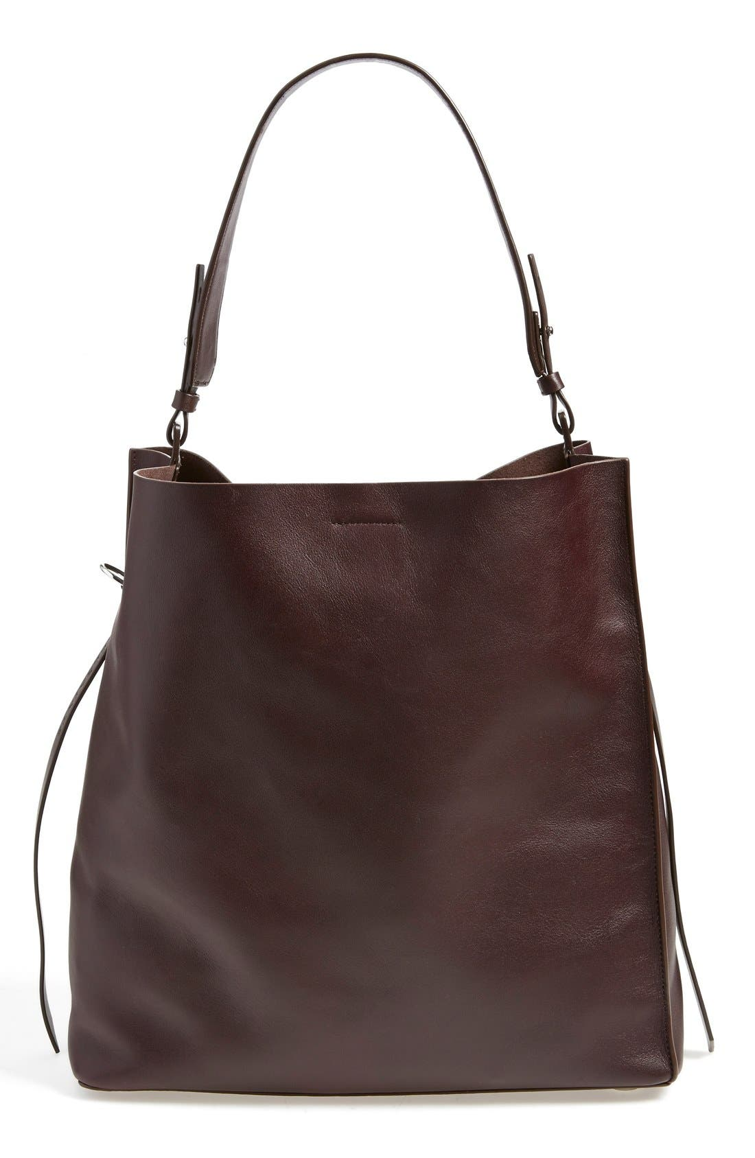 'Paradise North/South' Calfskin Leather Tote,                             Main thumbnail 11, color,