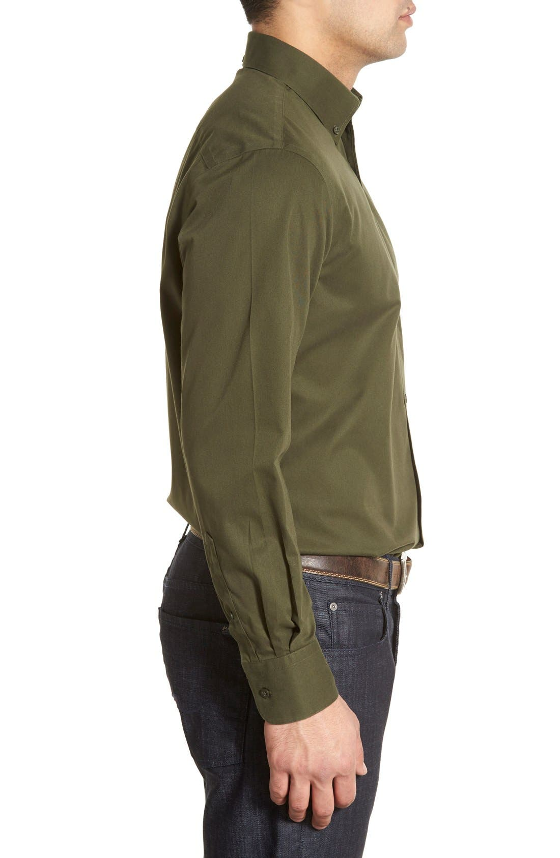 Smartcare<sup>™</sup> Traditional Fit Twill Boat Shirt,                             Alternate thumbnail 87, color,