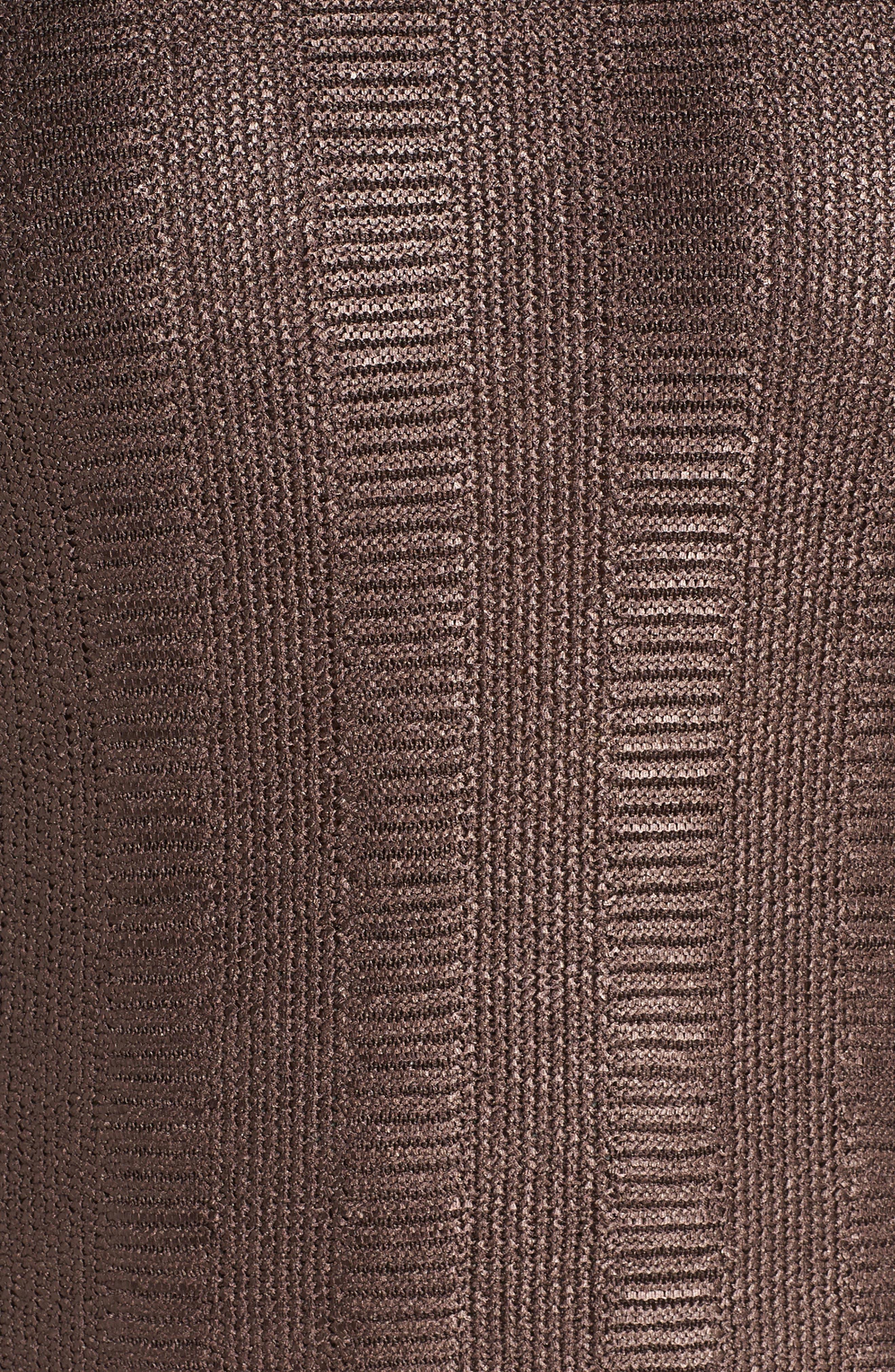 Easy Edge Metallic Knit Top,                             Alternate thumbnail 5, color,                             500