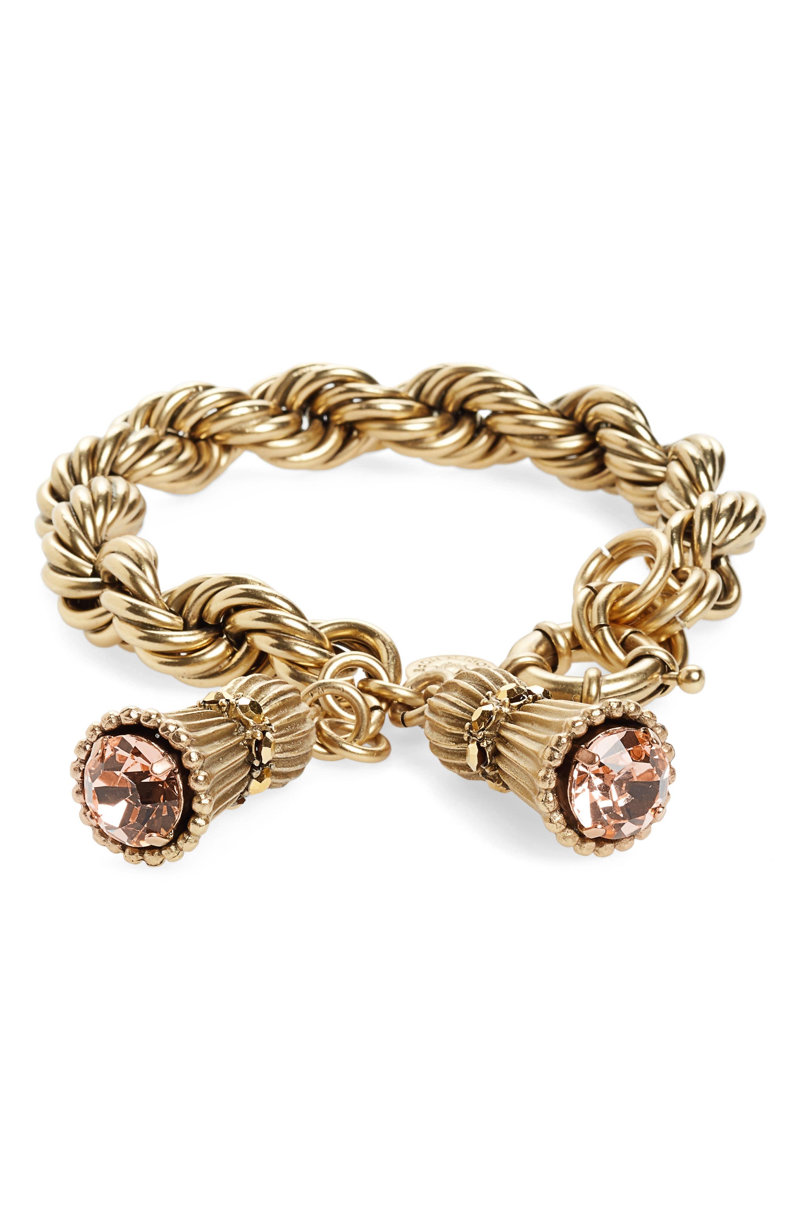 Fallon Crystal Bracelet,                             Main thumbnail 1, color,                             710