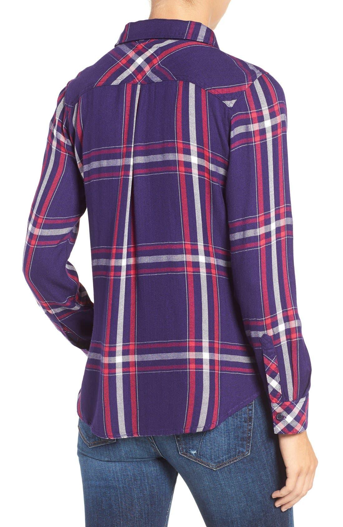 Hunter Plaid Shirt,                             Alternate thumbnail 258, color,
