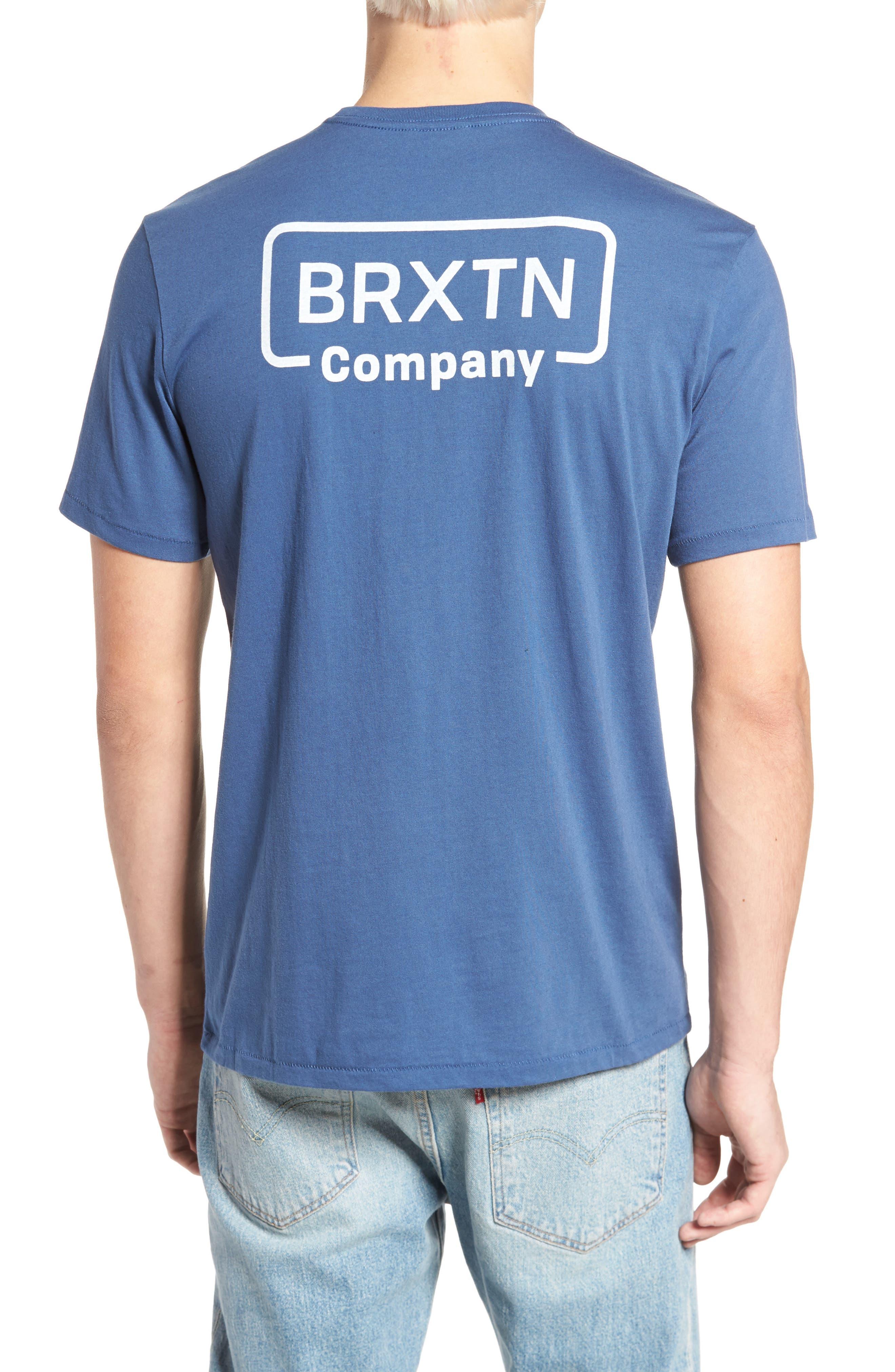 Crosswhite Pocket T-Shirt,                             Alternate thumbnail 2, color,                             400