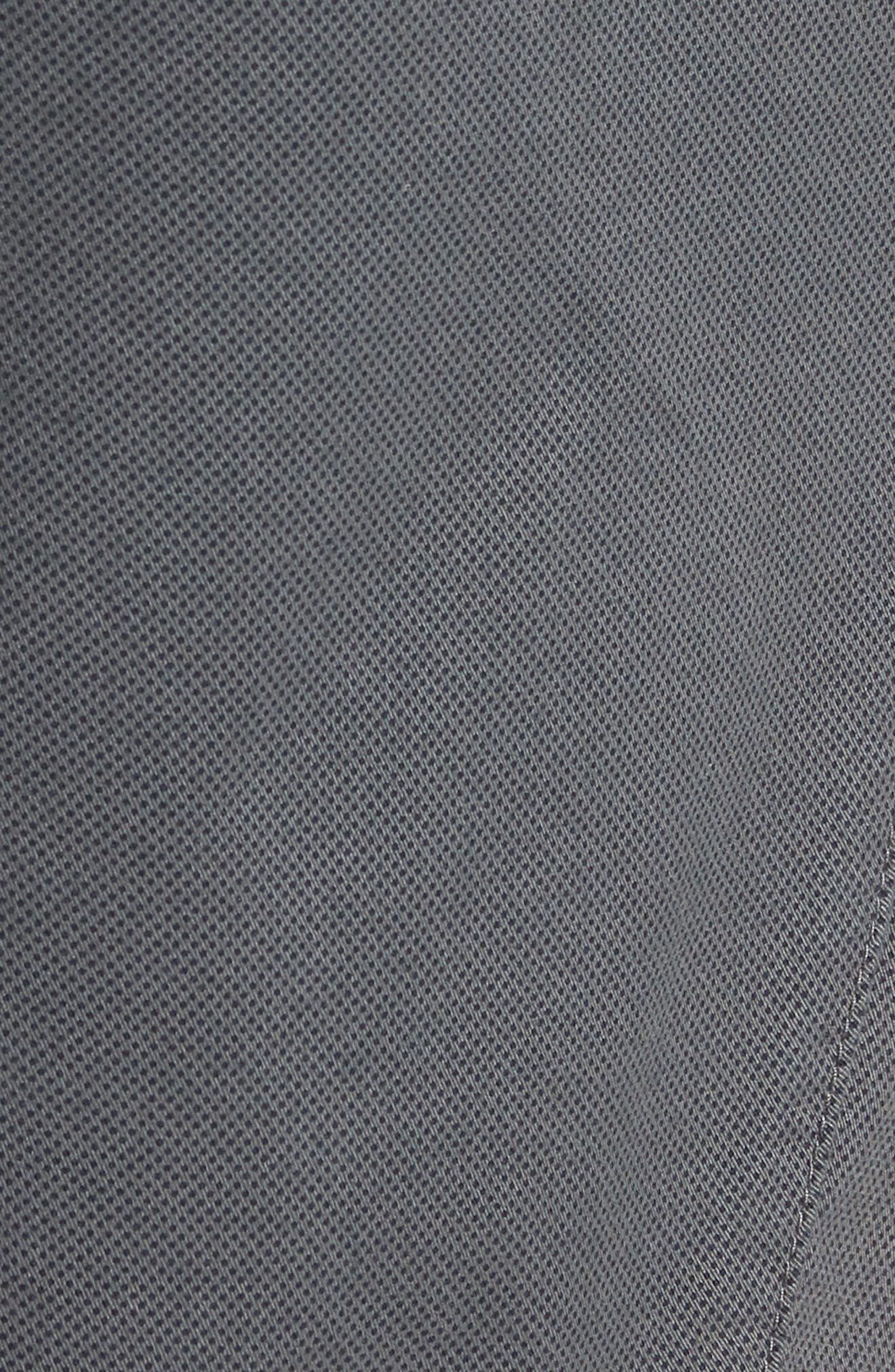 Wrap Microdot Stretch Chino Shorts,                             Alternate thumbnail 5, color,                             051