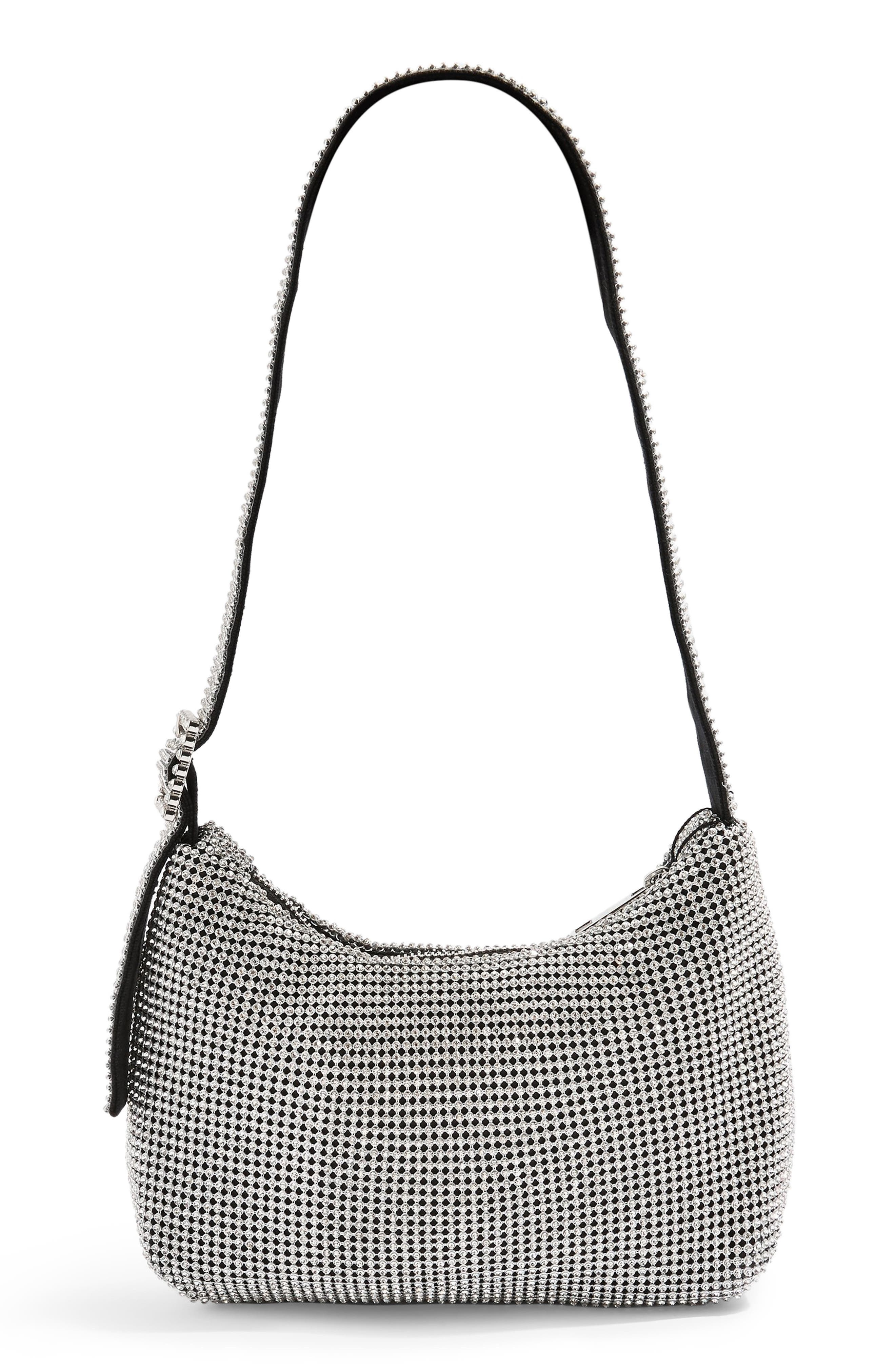 Diana Crystal Embellished Shoulder Bag by Topshop