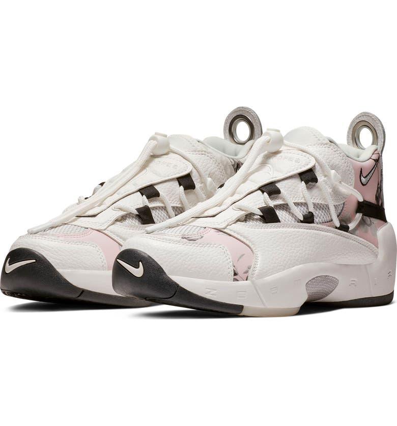 reputable site 1f3ca c9e41 NIKE Air Swoopes II Sneaker, Main, color, WHITE WHITE BLACK