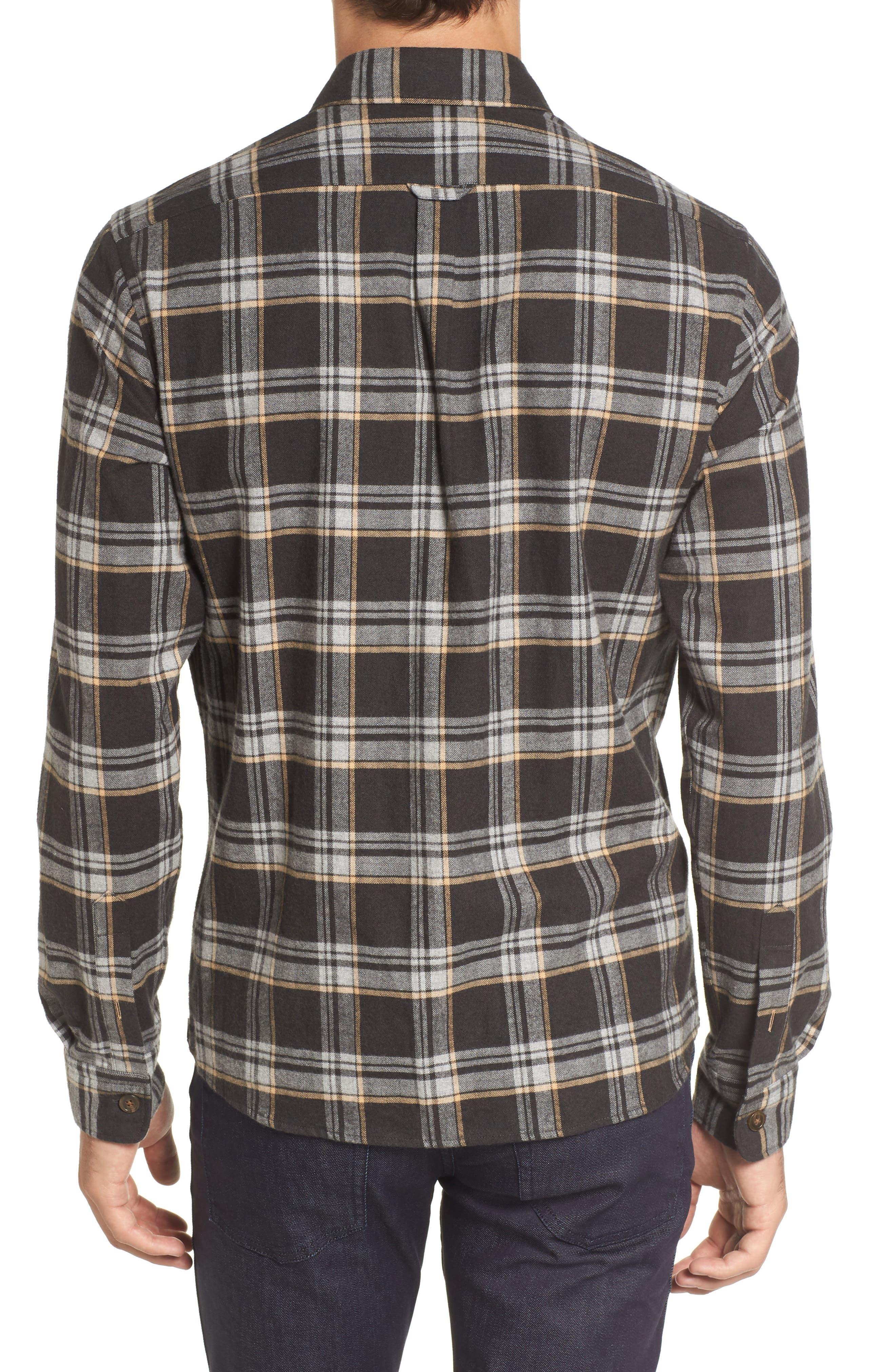 Lalo Plaid Flannel Shirt,                             Alternate thumbnail 2, color,                             262