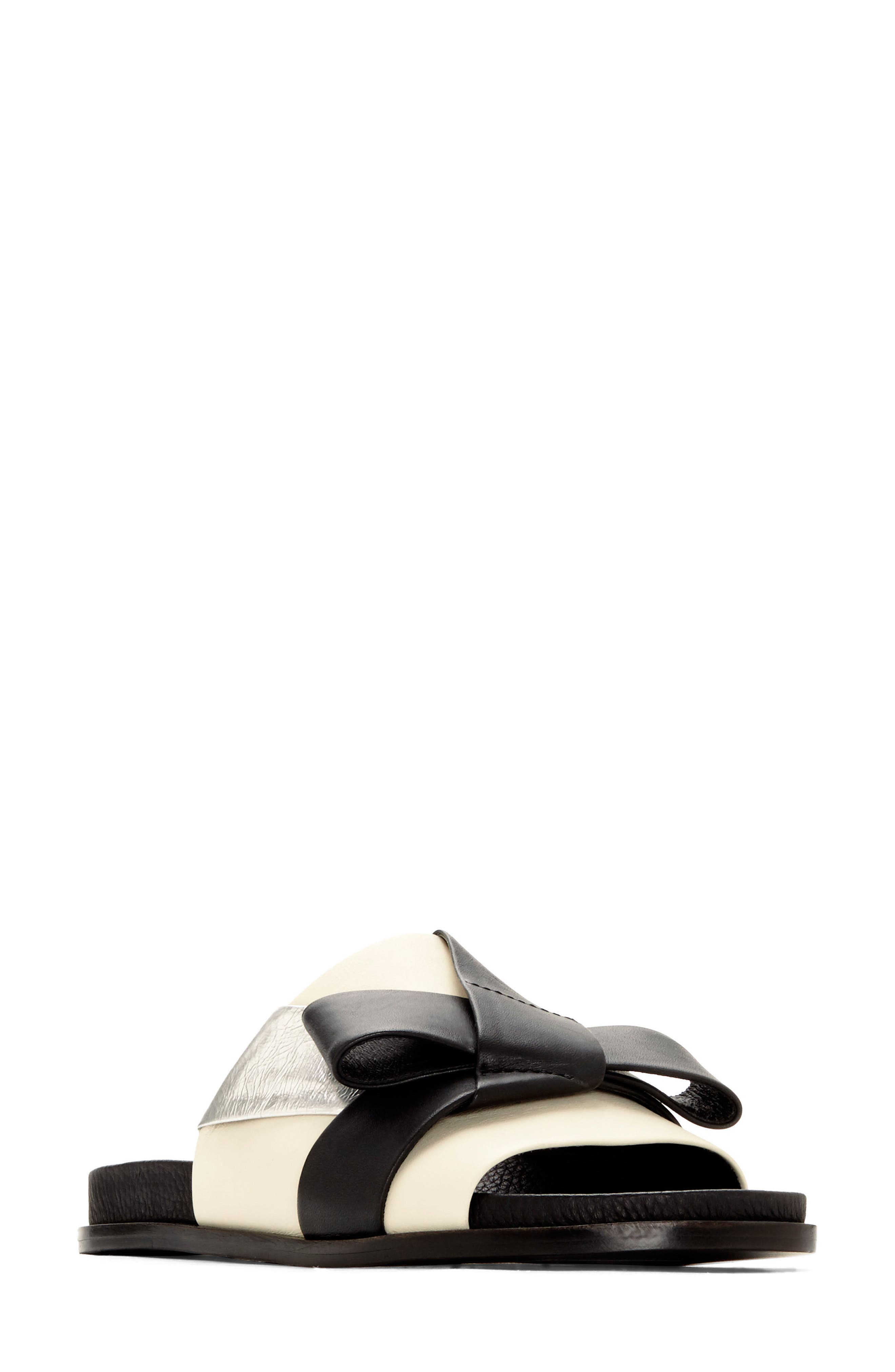 Dafne Slide Sandal,                         Main,                         color, 001