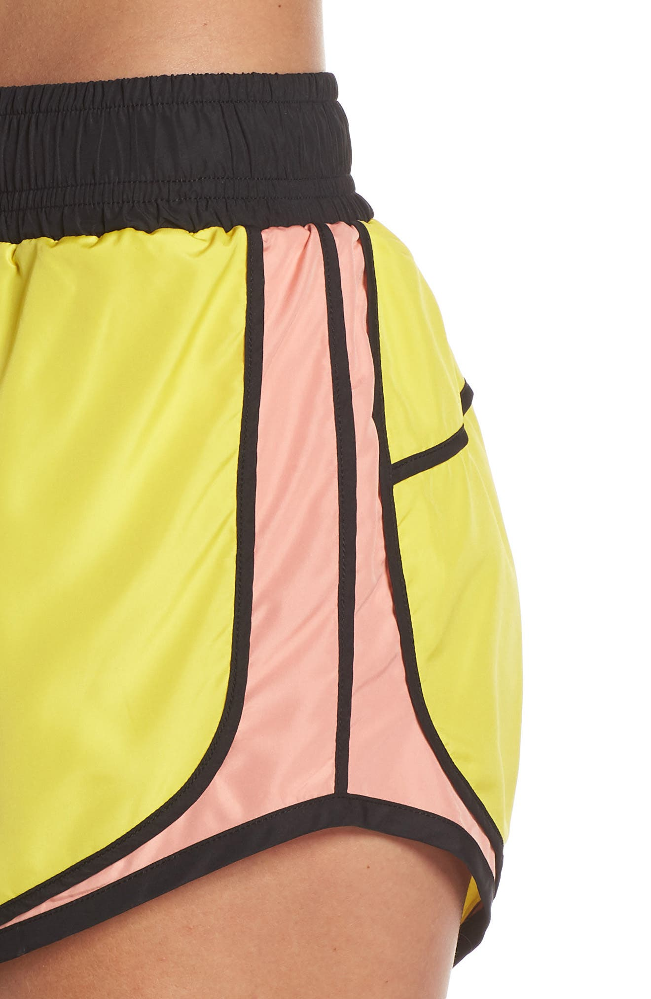 Sprint Vision Shorts,                             Alternate thumbnail 4, color,                             YELLOW