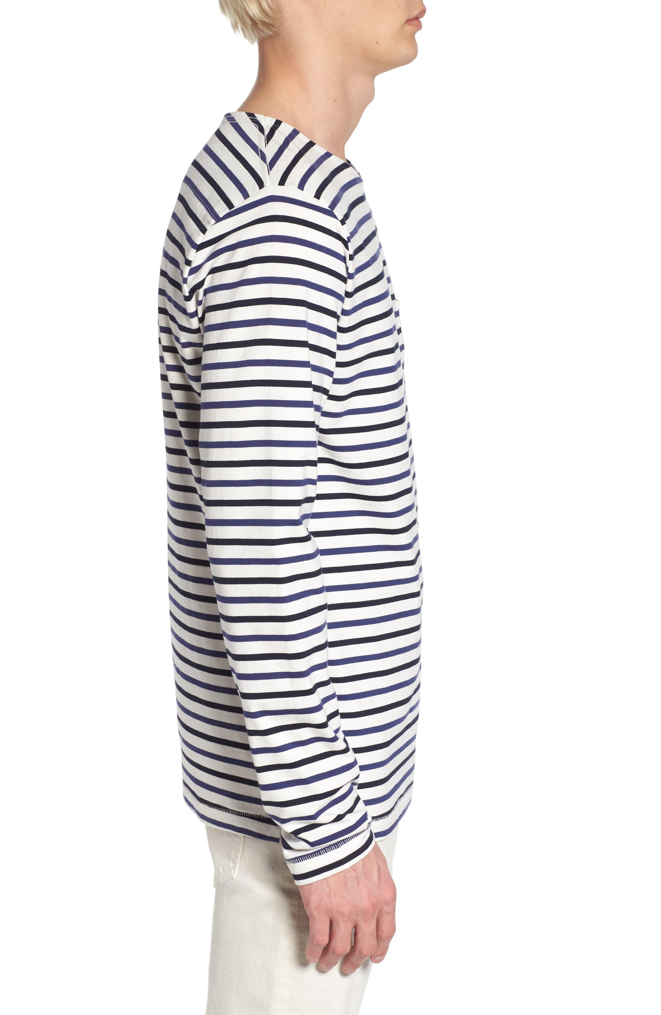 Slim Fit Franstripe Shirt,                             Alternate thumbnail 3, color,                             410
