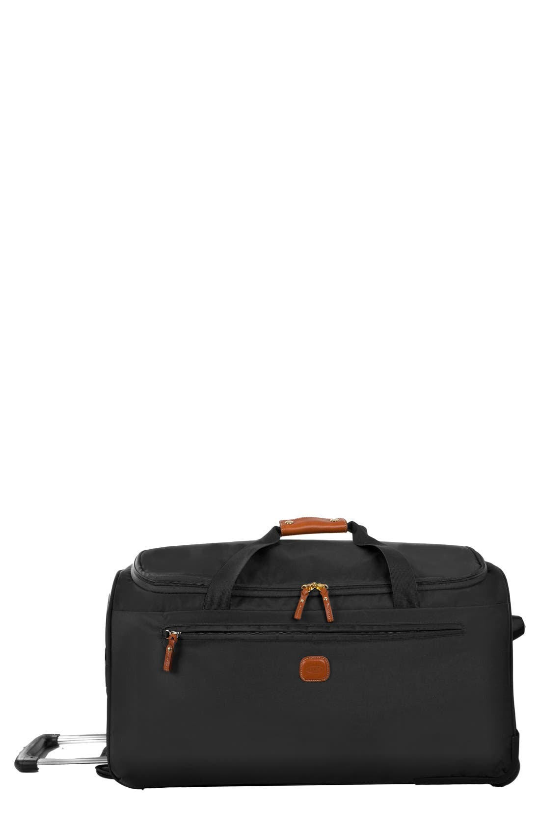 X-Bag 28-Inch Rolling Duffel Bag,                             Main thumbnail 1, color,                             BLACK