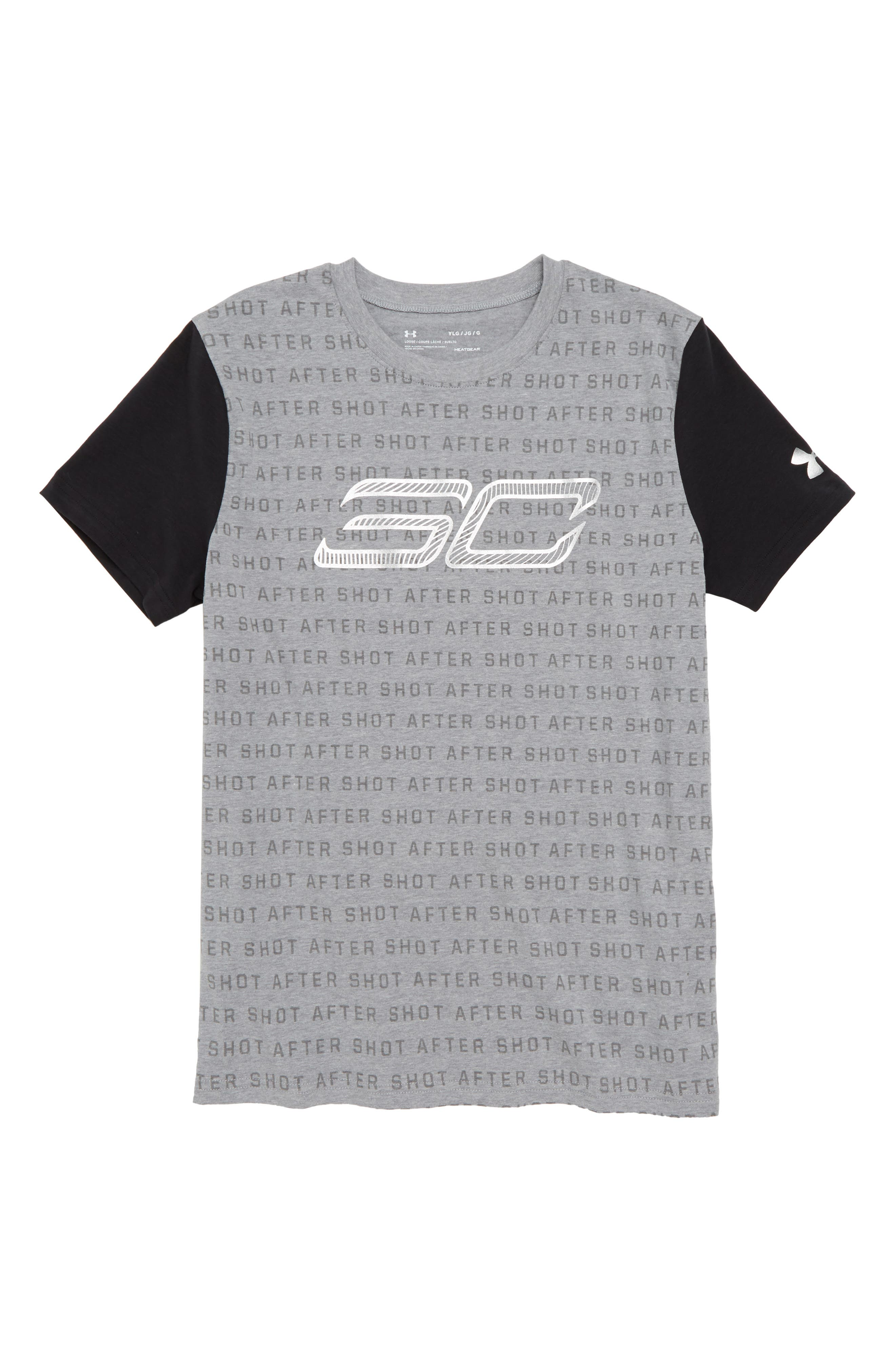 SC30 Reppin HeatGear<sup>®</sup> T-Shirt,                             Main thumbnail 1, color,                             035