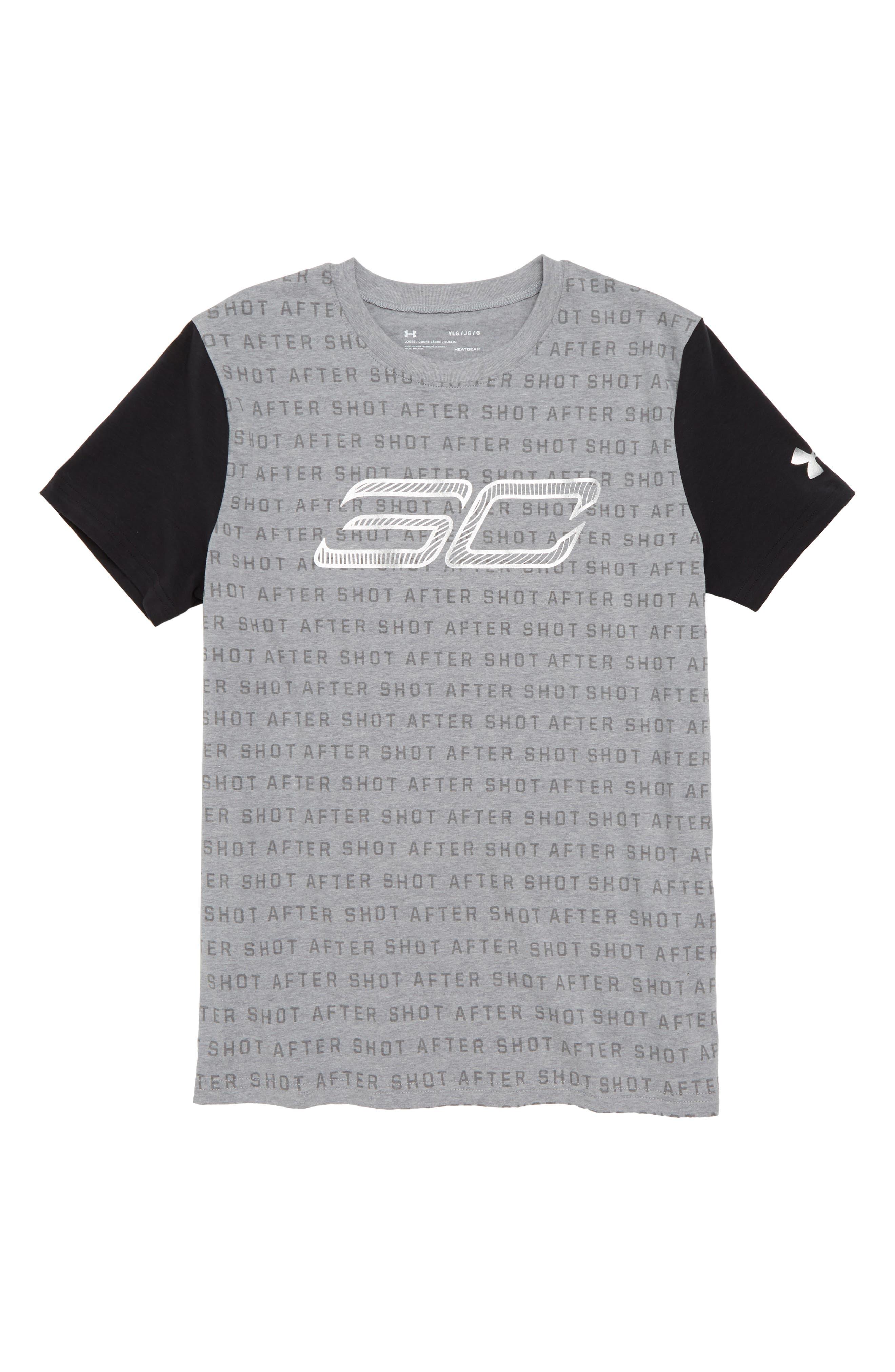 SC30 Reppin HeatGear<sup>®</sup> T-Shirt,                         Main,                         color, 035